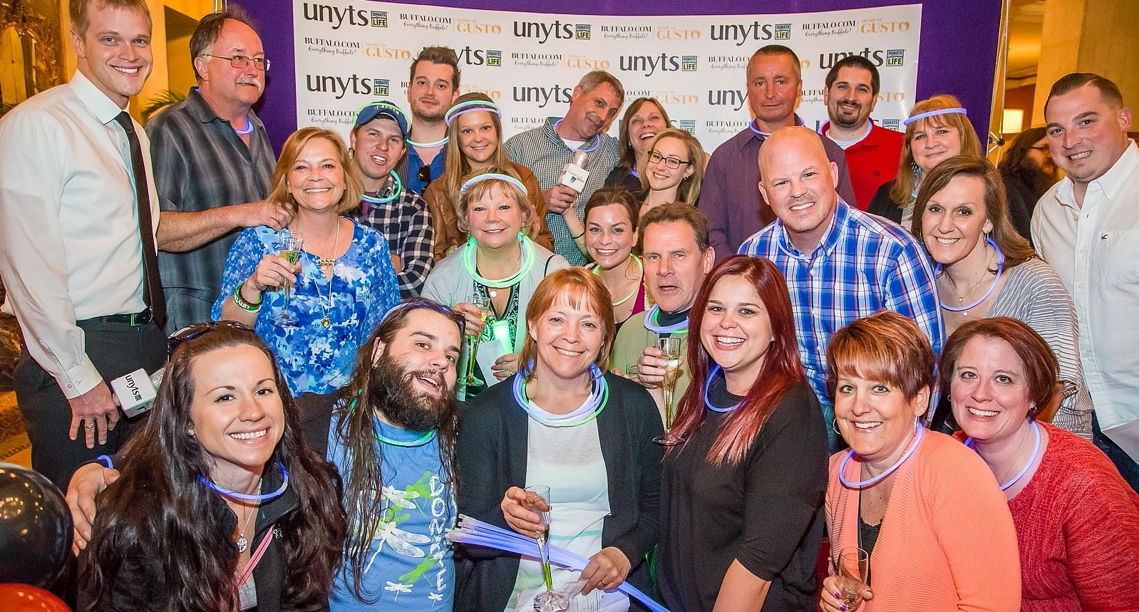 Smiling faces were in abundance at the 2015 Unyts Bucket List Bash, an even which returns for another year this Saturday. (Don Nieman/Special to The News)