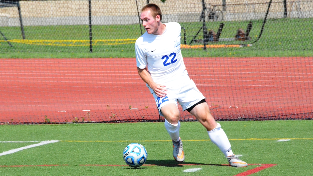 Daemen speedster Alex Reid should again lead Roos' attack. (via Daemen Athletics)