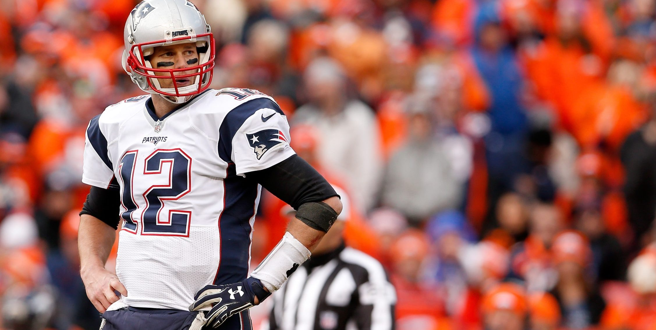An appeals court has reinstated New England Patriots quarterback Tom Brady's four-game suspension. (Getty Images)
