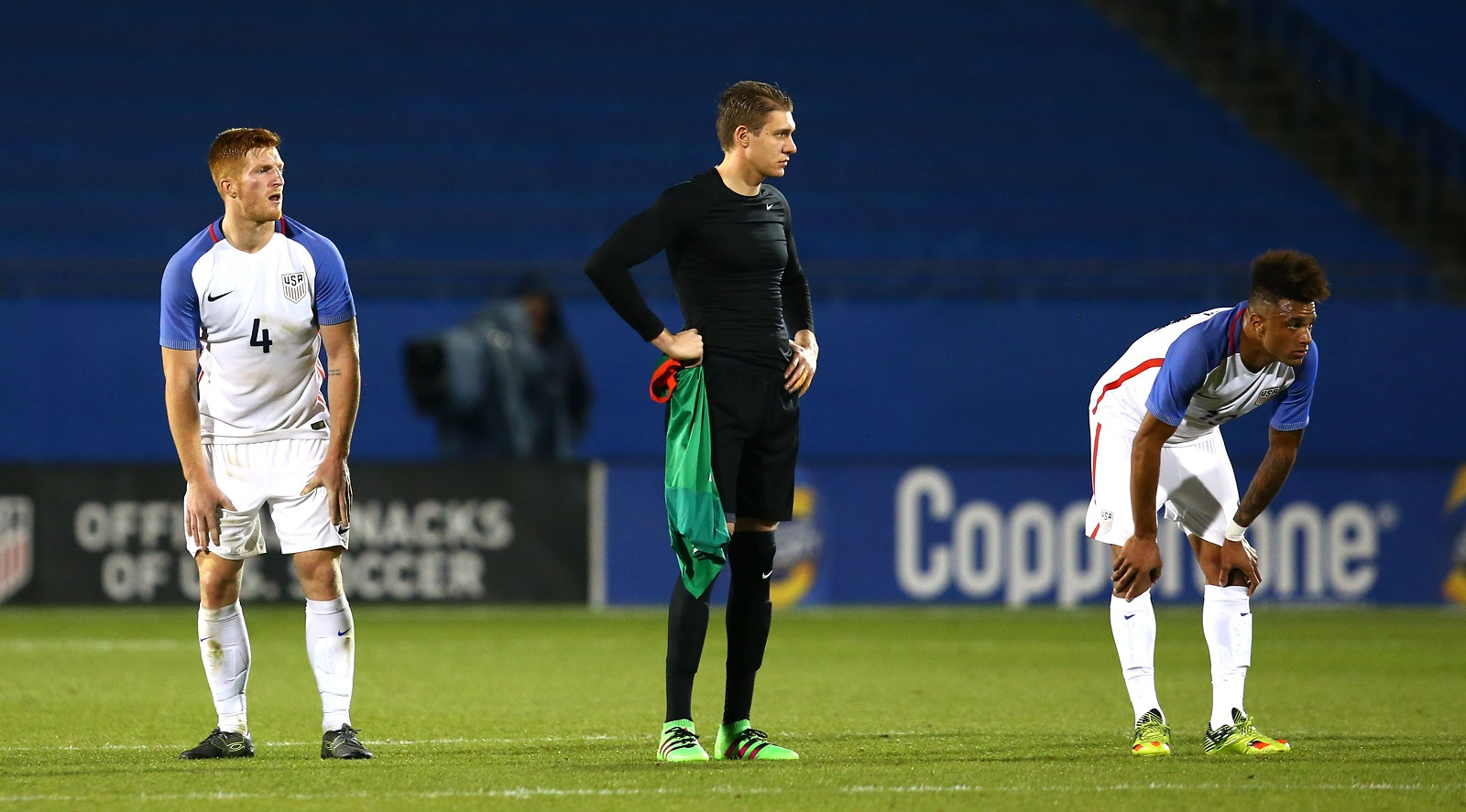 U.S. Soccer will miss the summer Olympics for the second consecutive cycle after dropping a two-leg playoff to Colombia, 3-2 on aggregate. (Getty Images)