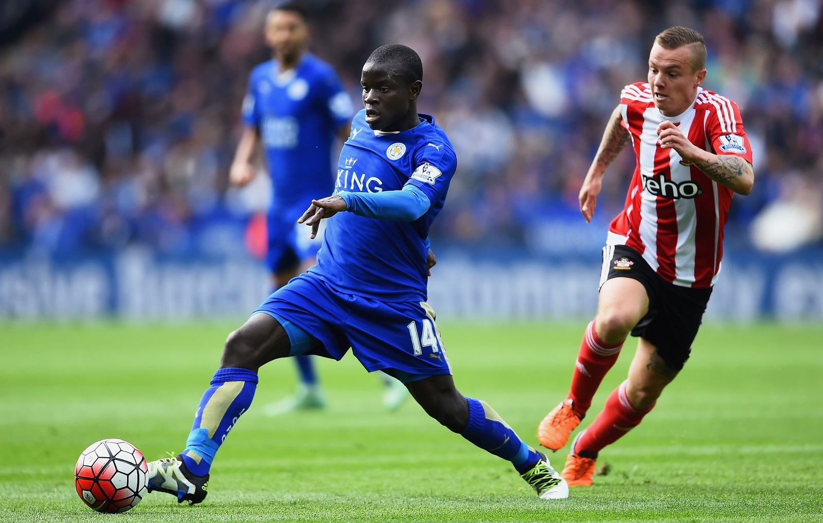 The rest of the world will learn to pronounce N'Golo Kante's name next year, whether or not he's still a member of Leicester City. (Getty Images)