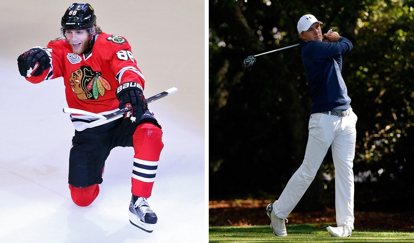 Patrick Kane and Jordan Spieth are two major topics in the most recent 'Sports Talk Sunday.' (Getty Images)