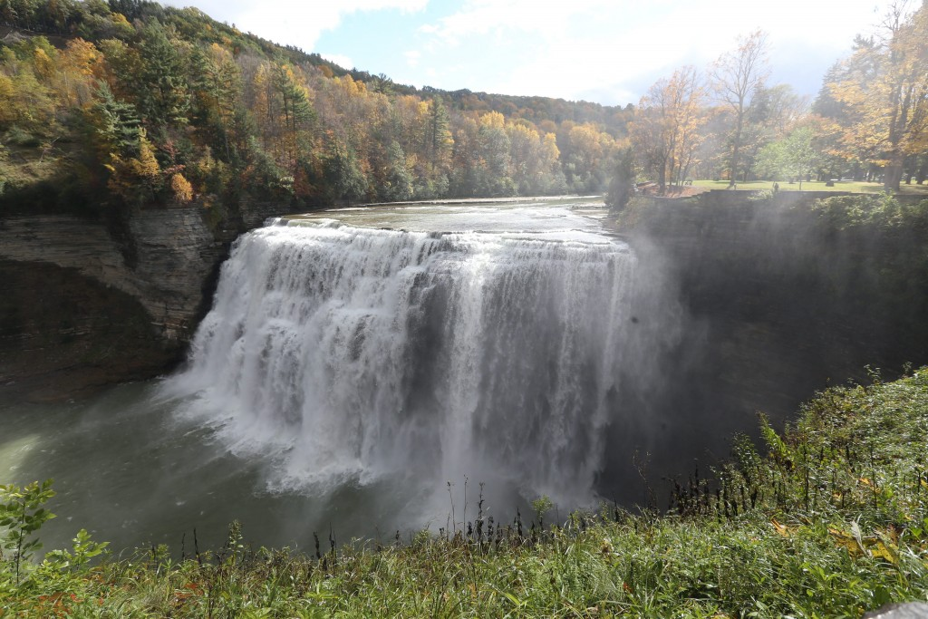 Letchworth State Park, sometimes called the Grand Canyon of the East. (Sharon Cantillon/News file photo)