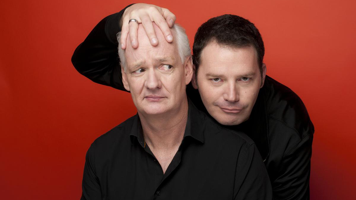 Improv team Colin Mochrie (left) and Brad Sherwood were featured on ABC's 'Who's Line is it Anyway?' (Jonas Public Relations)