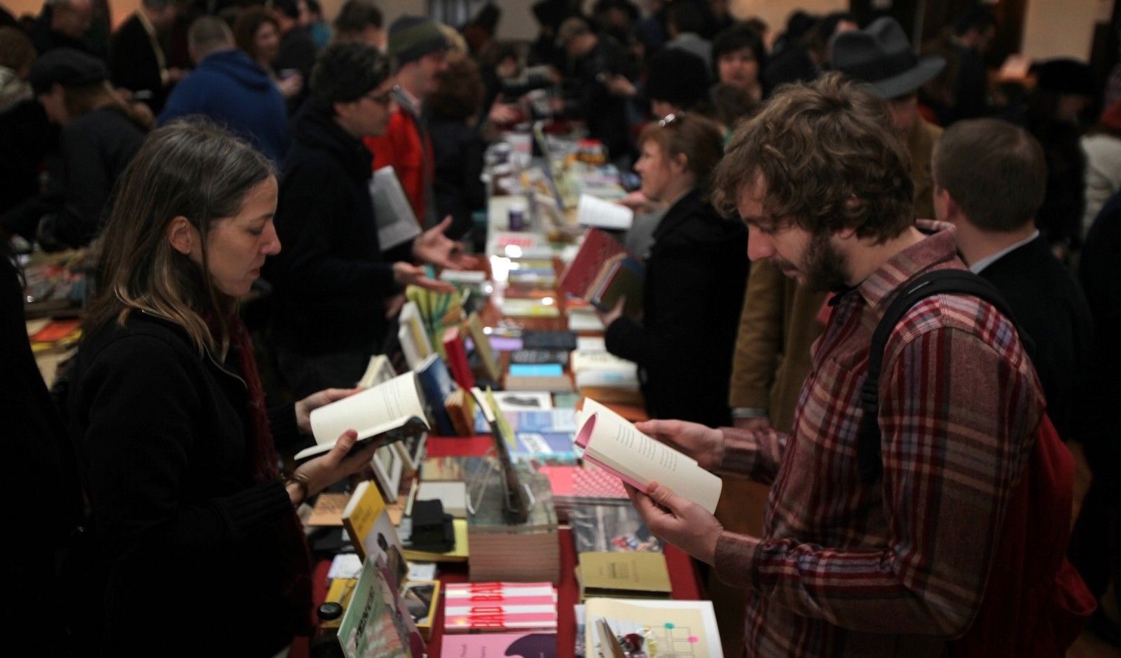 The final Buffalo Small Press Book Fair runs on April 9 and 10 in the Karpeles Manuscript Library in Porter Hall. (Buffalo News file photo)