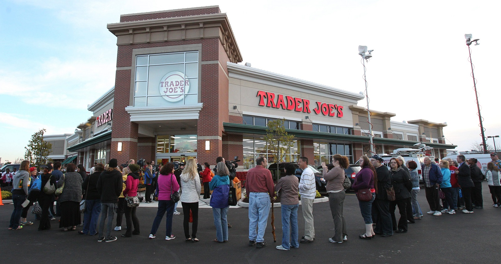 It felt like it was just yesterday when the Trader Joe's in Amherst opened. (Sharon Cantillon/Buffalo News file photo)