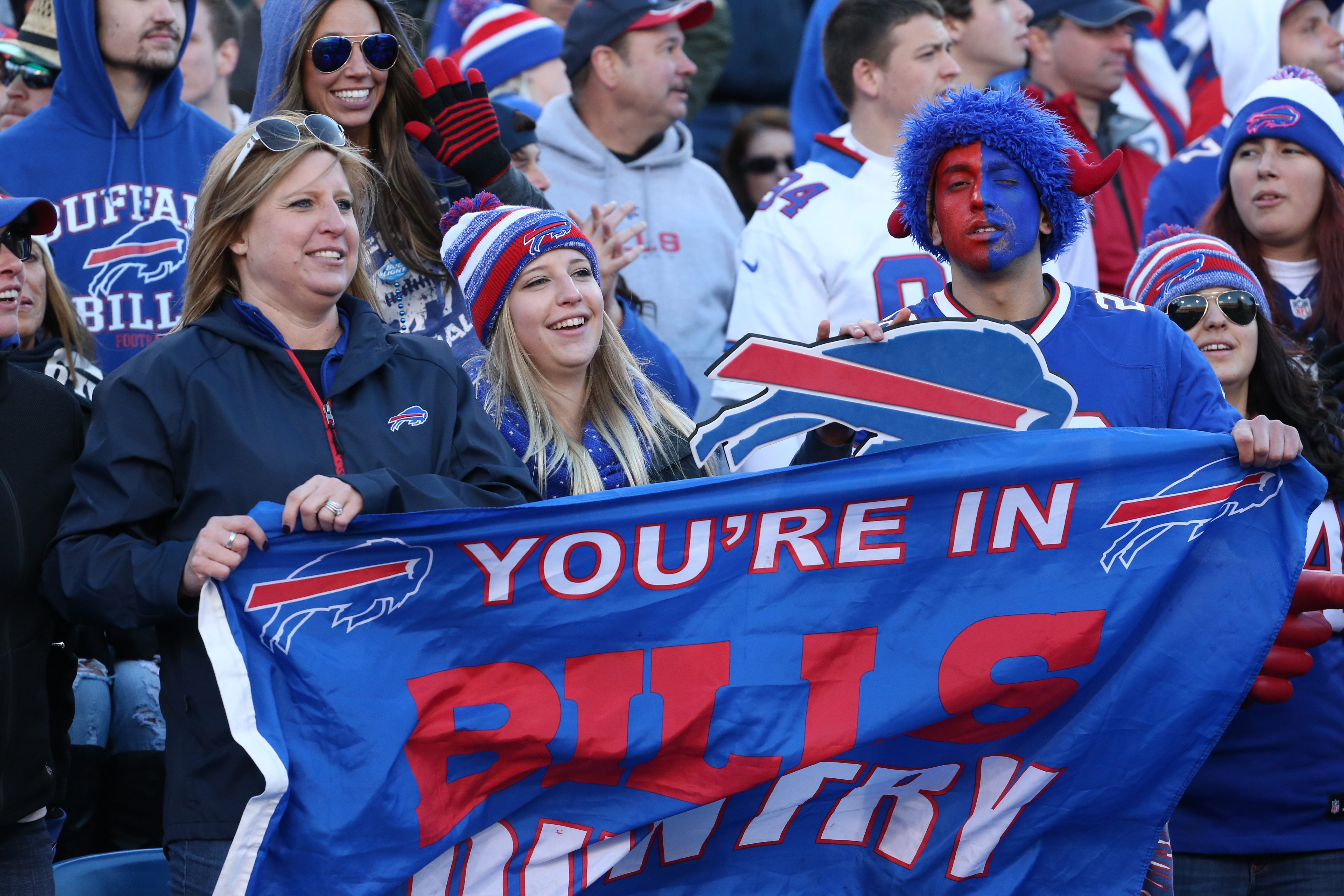Bills fans are hoping for a winning season and some playoff action this year.  (James P. McCoy/ News file photo)