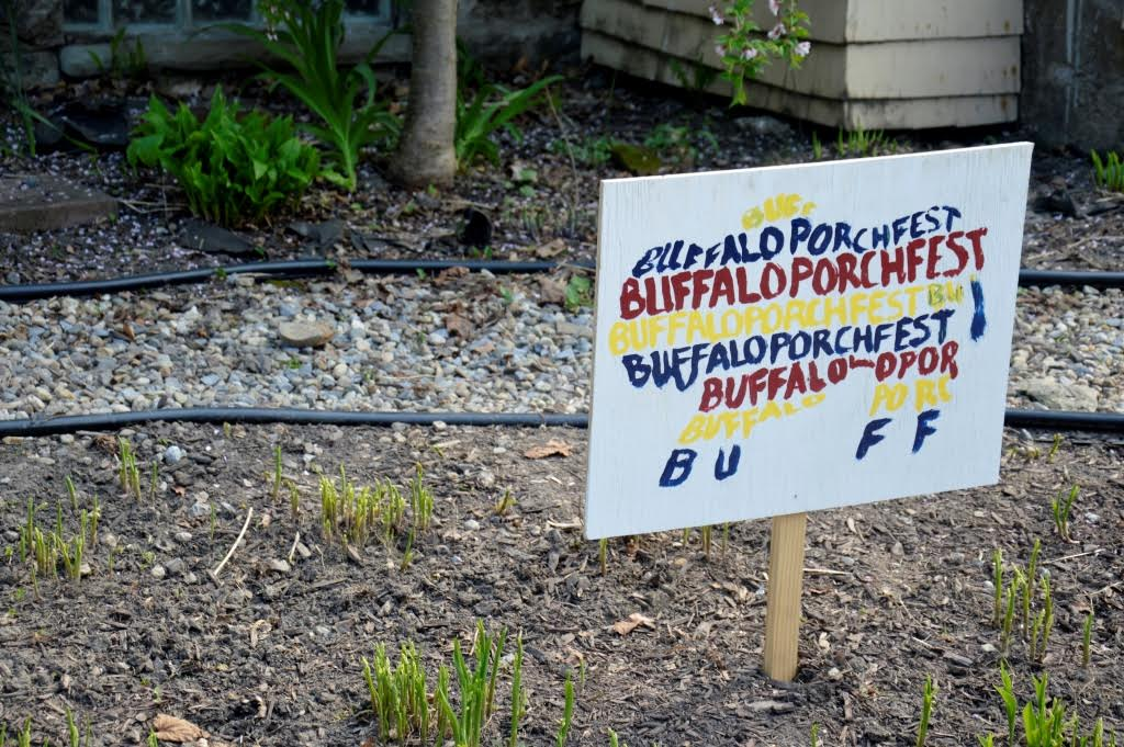 The Elmwood Village Association's Buffalo Porchfest will return in May.