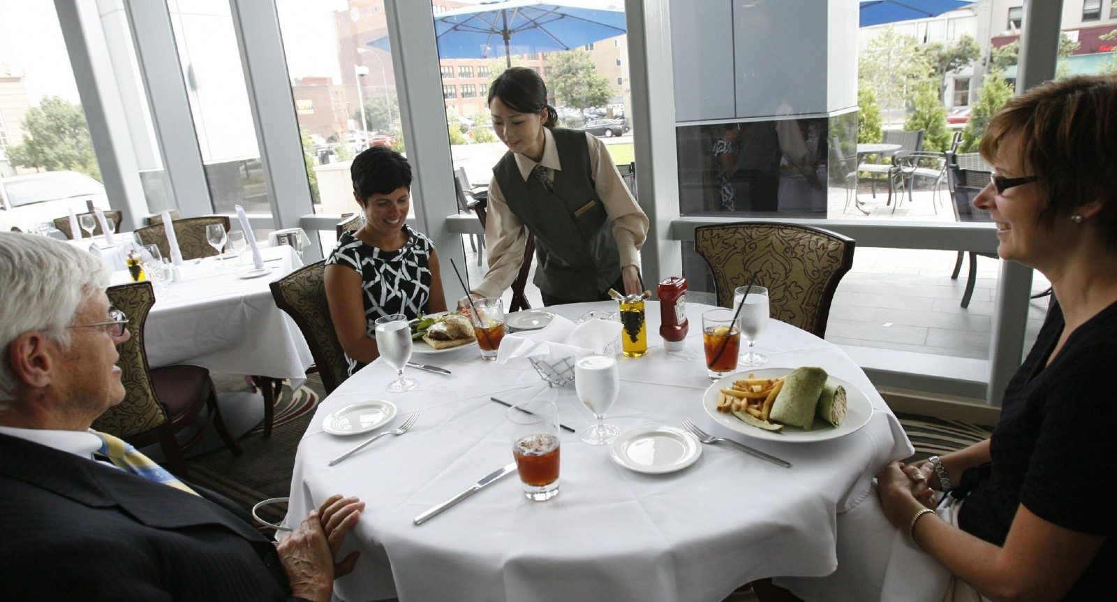 Della Terra opened in the then-Embassy Suites 2009. (Sharon Cantillon/Buffalo News)