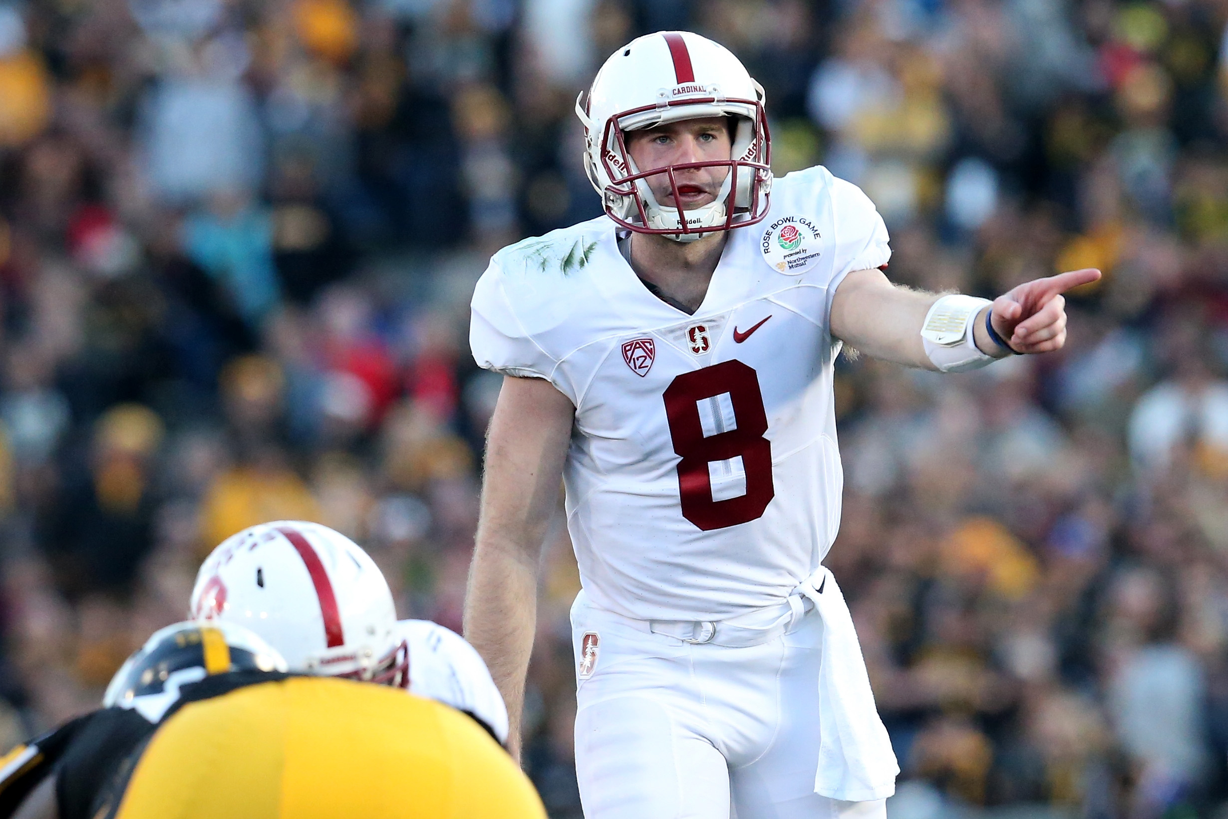 Kevin Hogan during the 102nd Rose Bowl Game on January 1, 2016. (Getty Images)