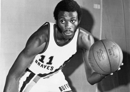 Braves player Bob McAdoo was MVP of the NBA in 1975.
