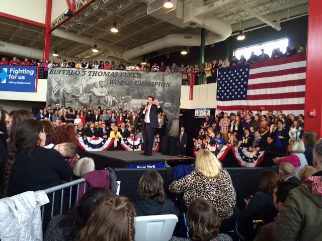 From  Friday's Hillary Clinton rally