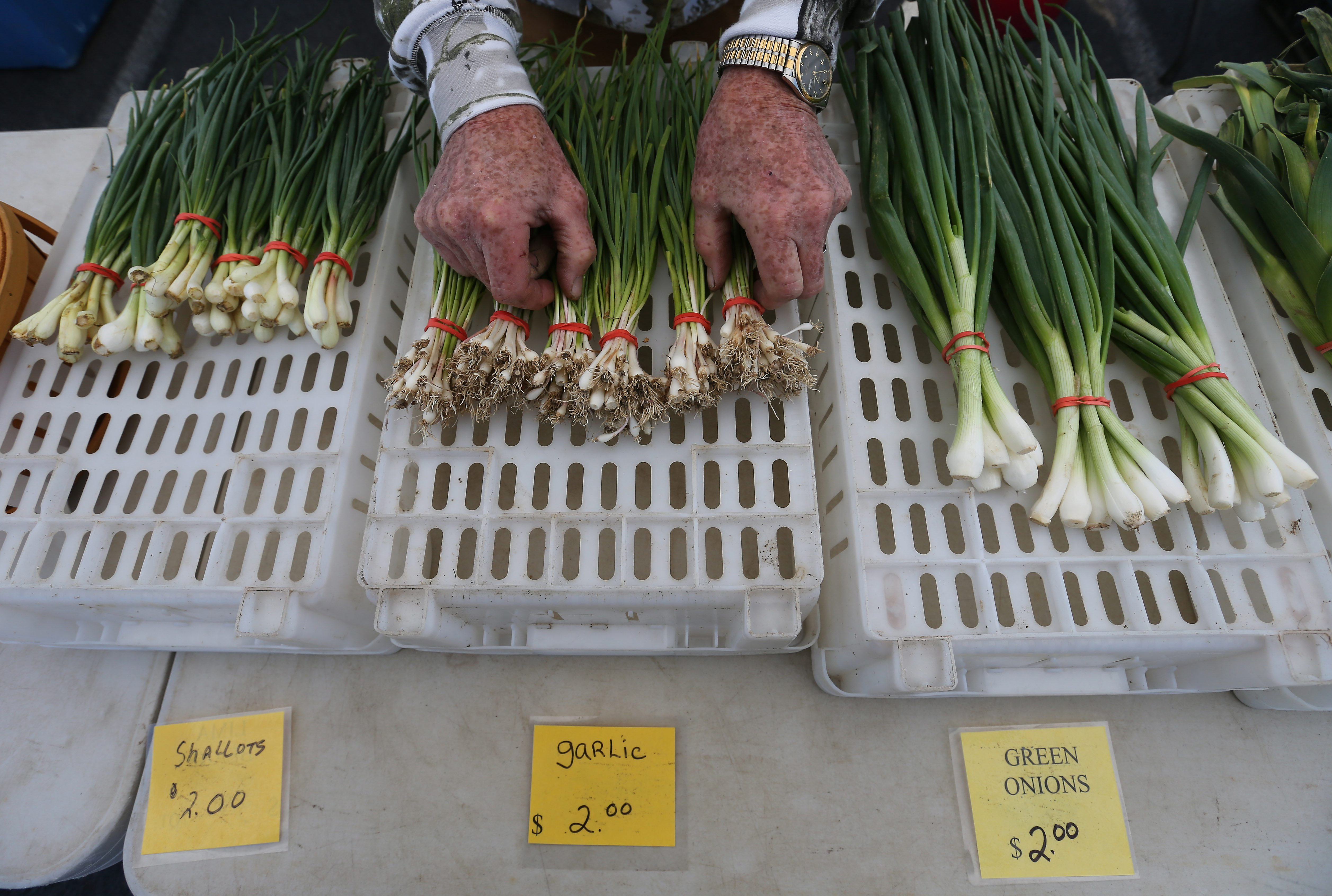 CSA shares let people buy produce directly from the farmer who grew it on a subscription-type system.  (Mark Mulville/News file photo)