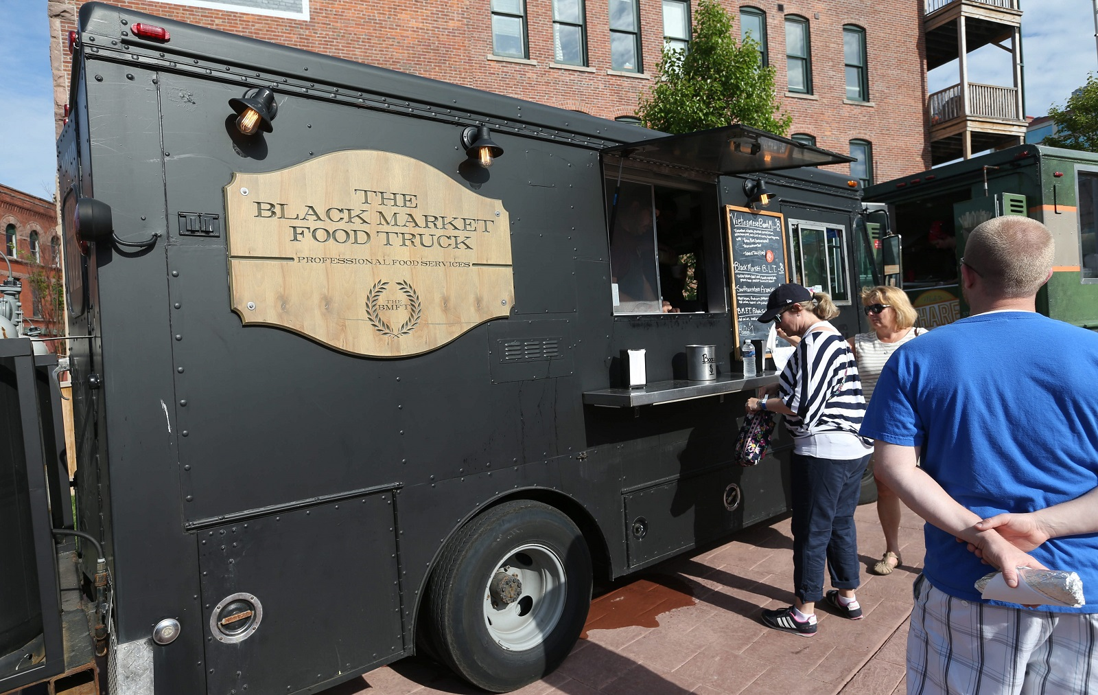 The Black Market Food Truck. (Sharon Cantillon/Buffalo News)