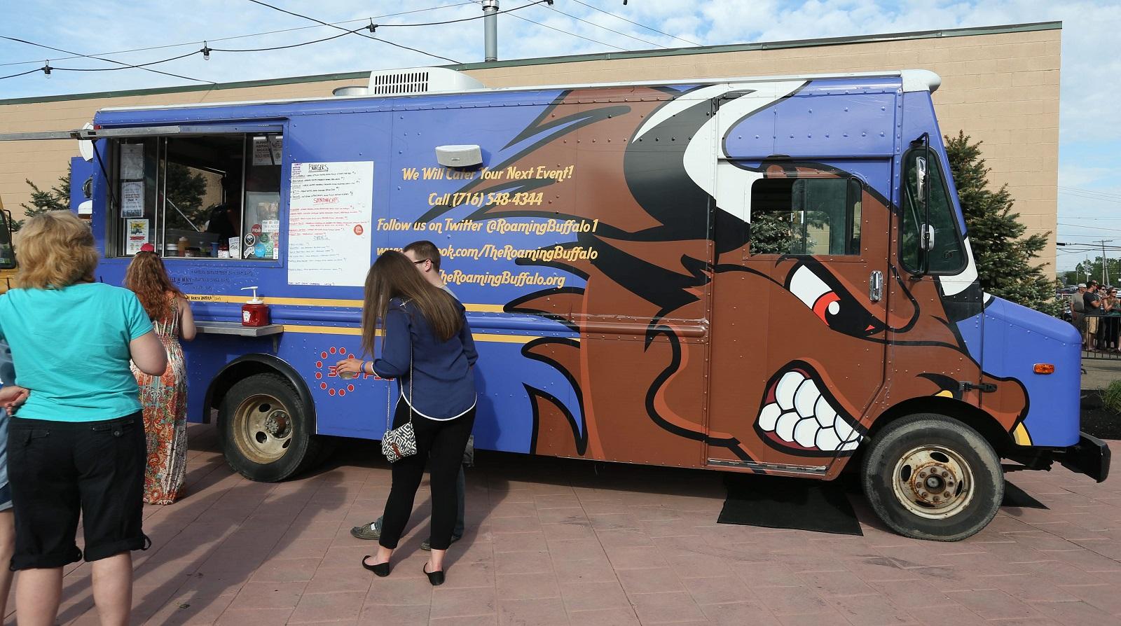 Roaming Buffalo food truck. (Sharon Cantillon/Buffalo News)