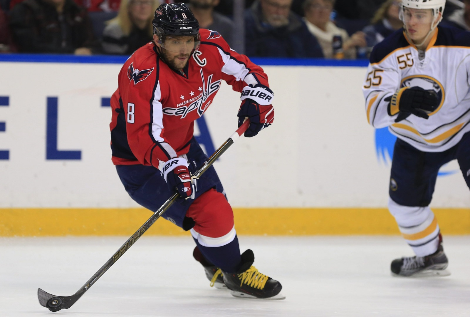 The Capitals' Alex Ovechkin had a strong Game 5, which could spur him on to a big finish to the series. (Harry Scull Jr./Buffalo News)