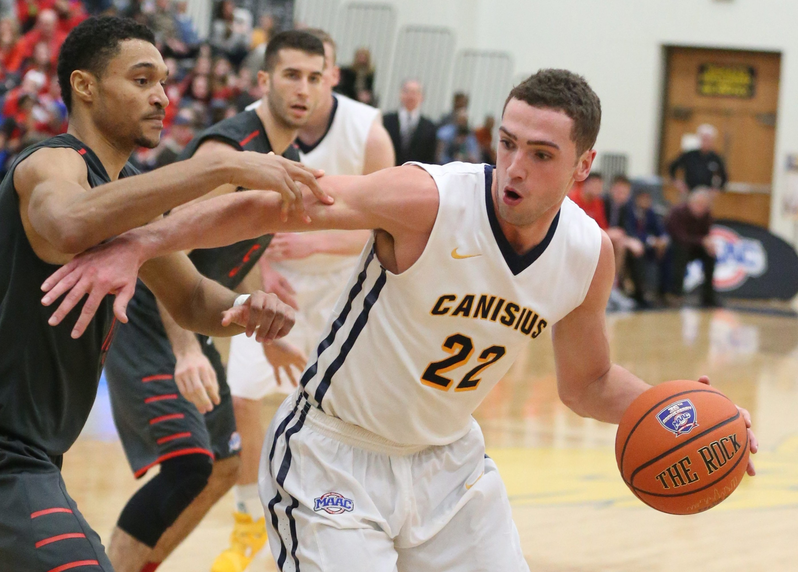 Phil Valenti and the Griffs still will play Niagara twice in the MAAC schedule.