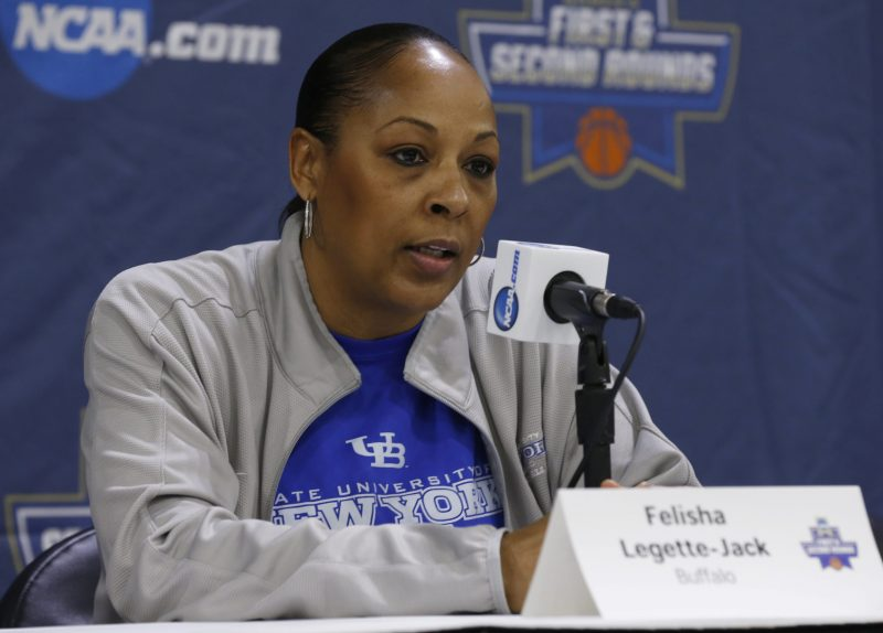 UB coach Felisha Legette-Jack. (Robert Kirkham/Buffalo News file photo)