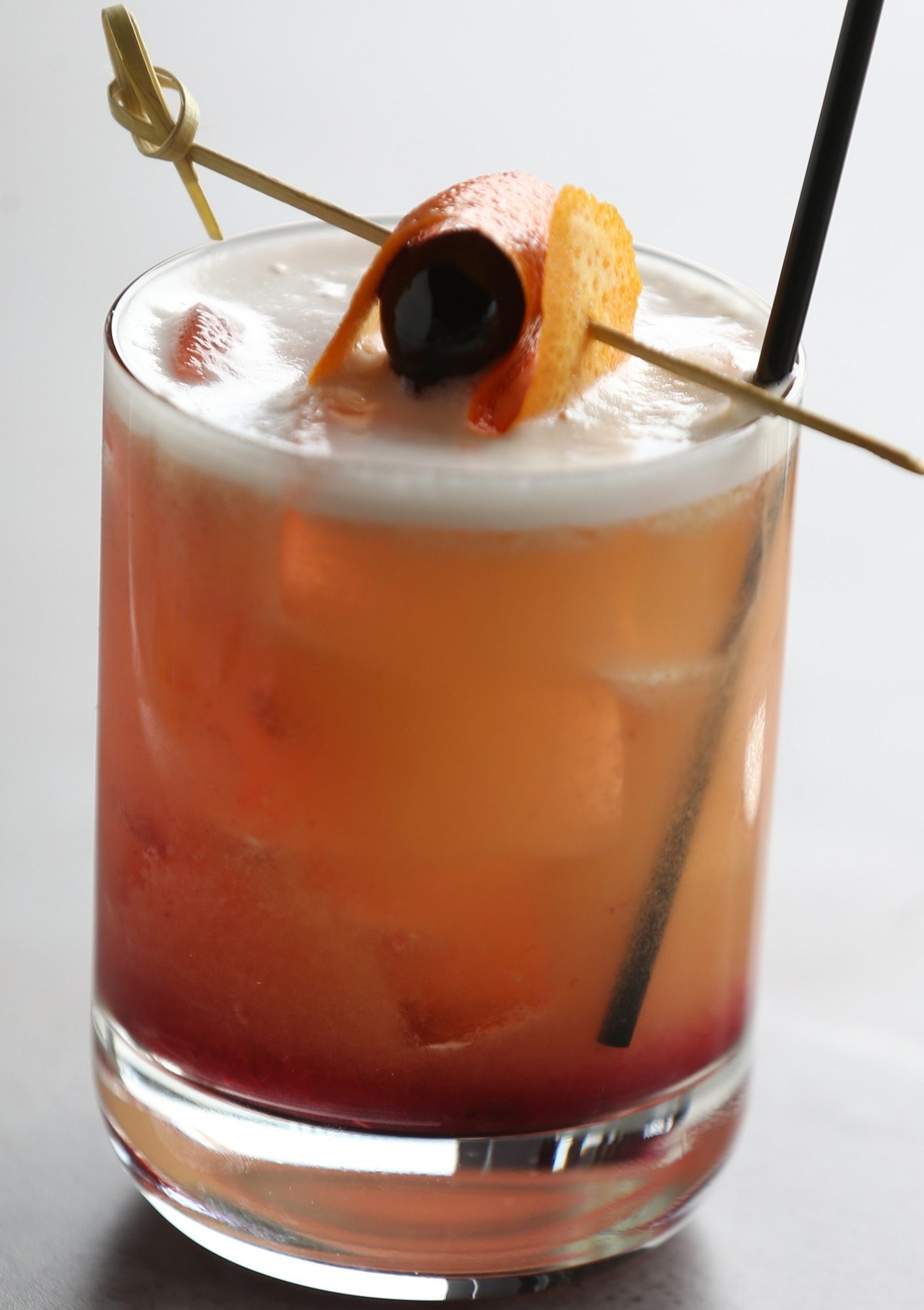 The Buffalo Sour is one of their popular cocktails. (Sharon Cantillon/Buffalo News)
