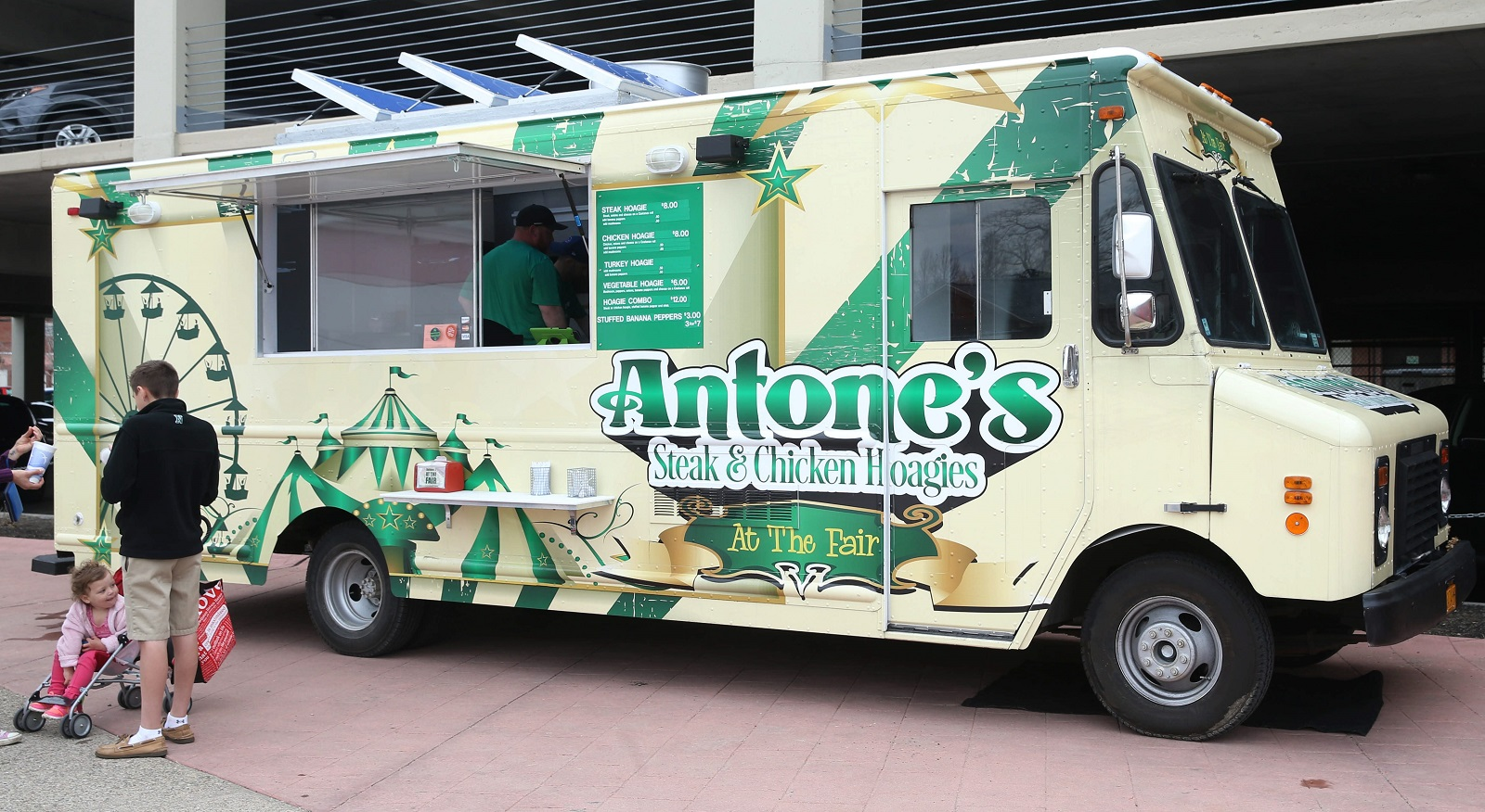 Antone's food truck served at the Erie County Fair last year and now has a regular mobile presence. (Sharon Cantillon/Buffalo News)