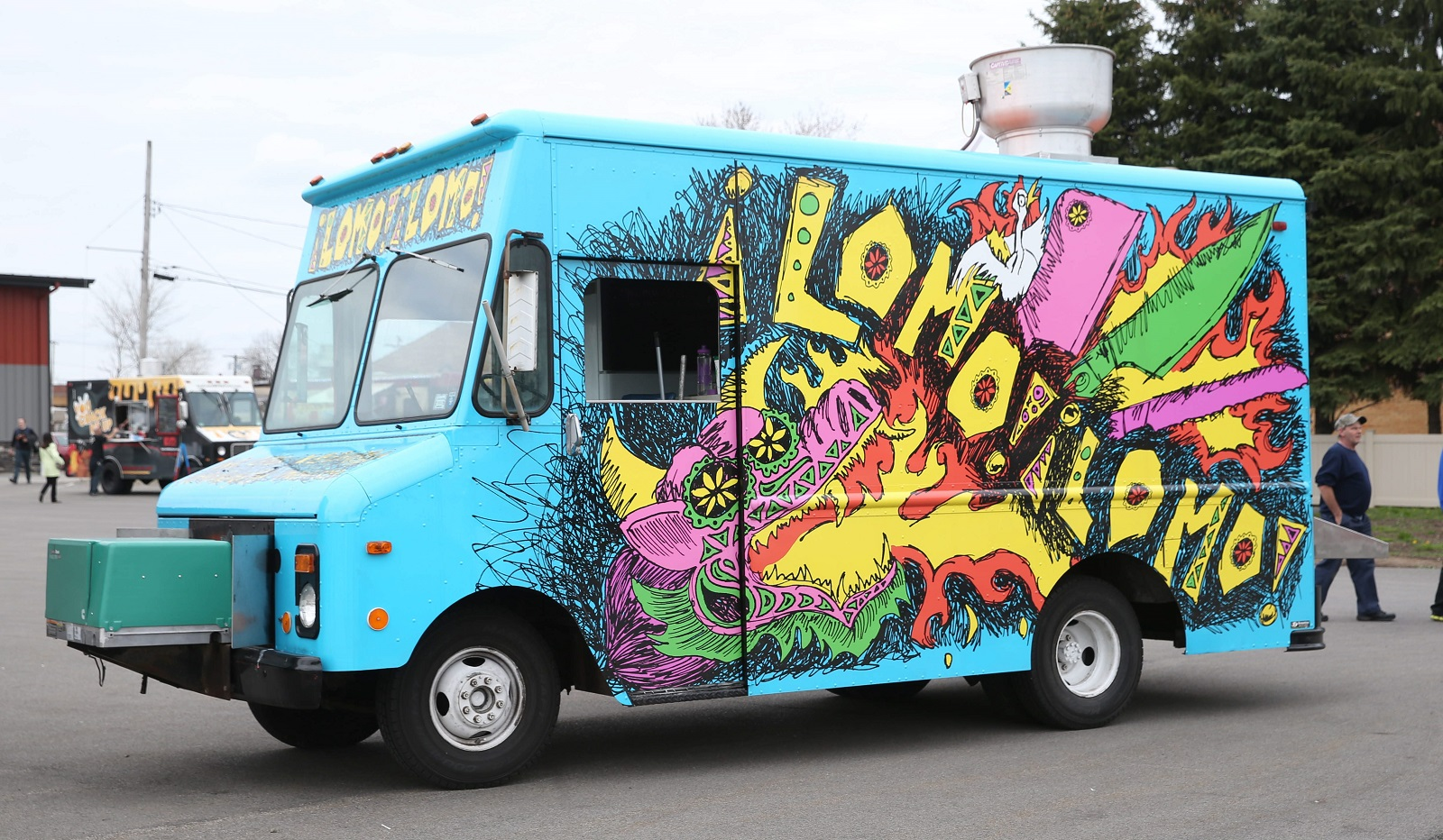 Lomo Lomo Food Truck at Food Truck Tuesdays. (Sharon Cantillon/Buffalo News)