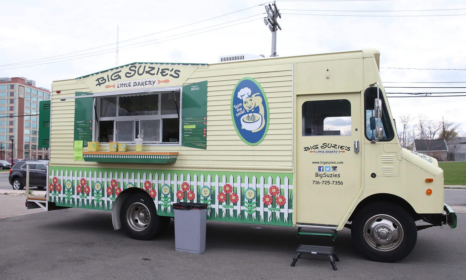 Big Suzie's Little Bakery is a dessert-centered food truck. (Sharon Cantillon/Buffalo News)