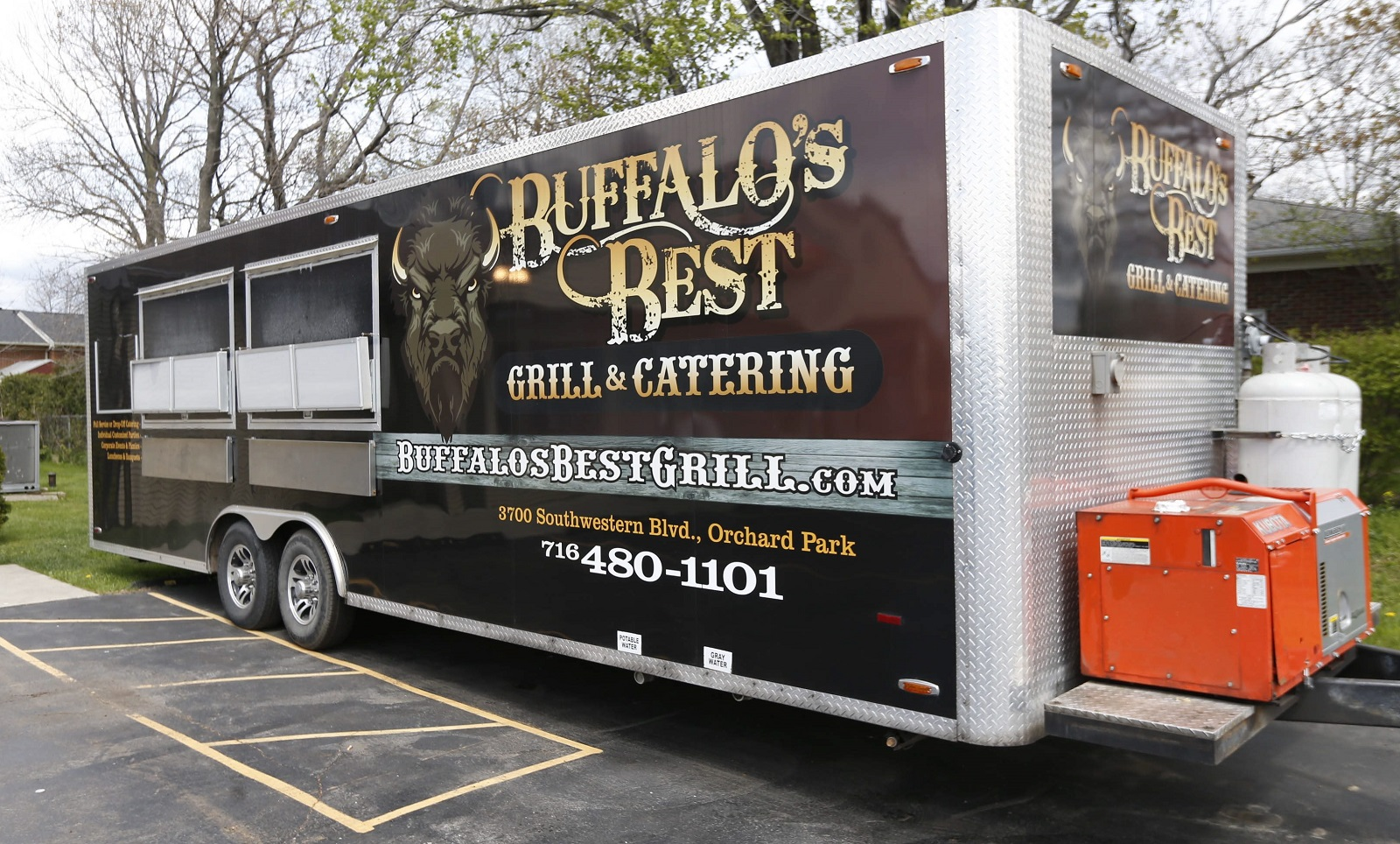 Buffalo's Best Grill has a Road Grill that's new to the streets. (Robert Kirkham/Buffalo News)