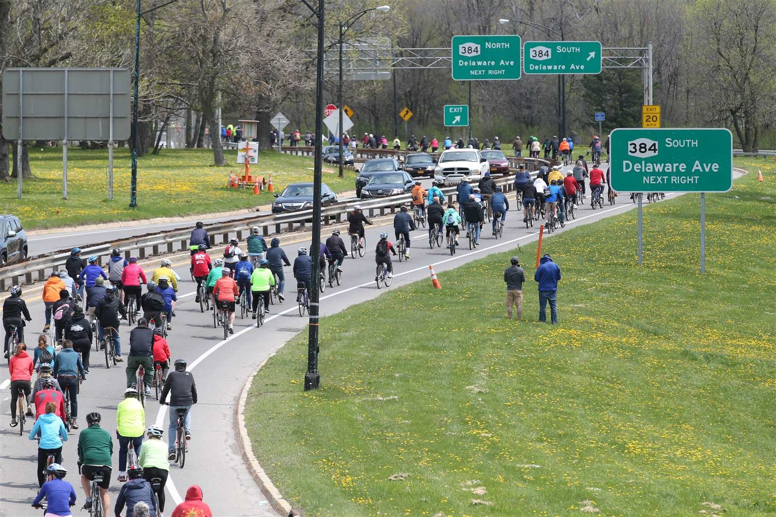 Buffalo Slow Roll starts and ends on Monday at the African American Cultural Center, 350 Masten Ave. (Sharon Cantillon/Buffalo News file photo)