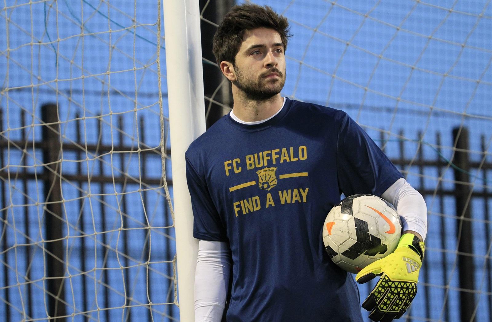 FC Buffalo's new starting keeper Nick Jeffs, who plays at Louisville. (Harry Scull Jr./Buffalo News)