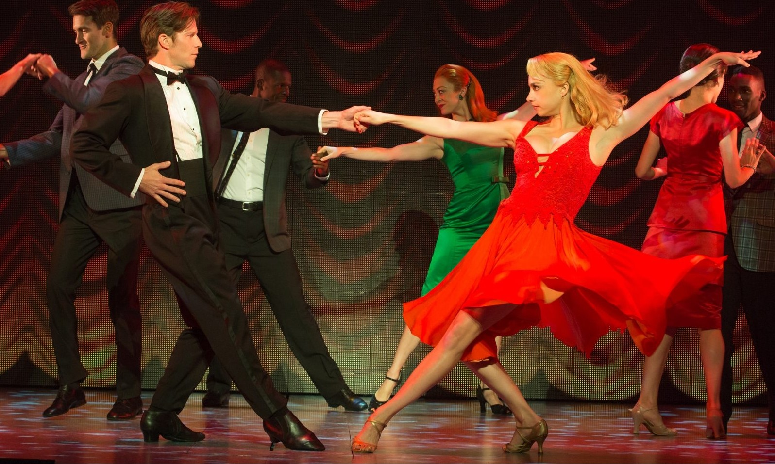 Christopher Tierney and Rachel Boone star in the touring production of 'Dirty Dancing' playing in Shea's Performing Arts Center.
