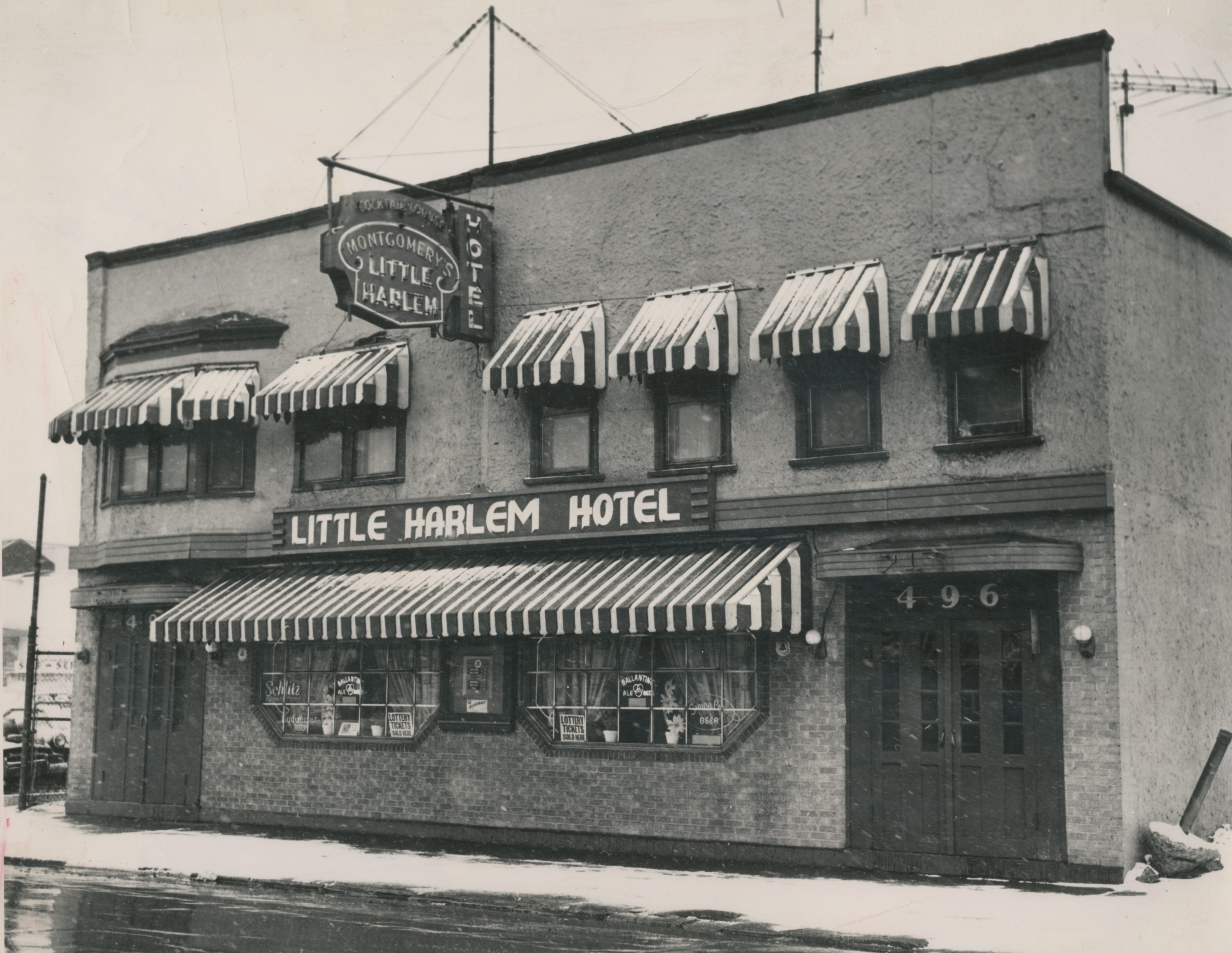 "The Little Harlem Hotel ""was the place ... to go when you dressed up ... and wanted to be seen."" Former Common Council President George K. Arthur on the Little Harlem Hotel."