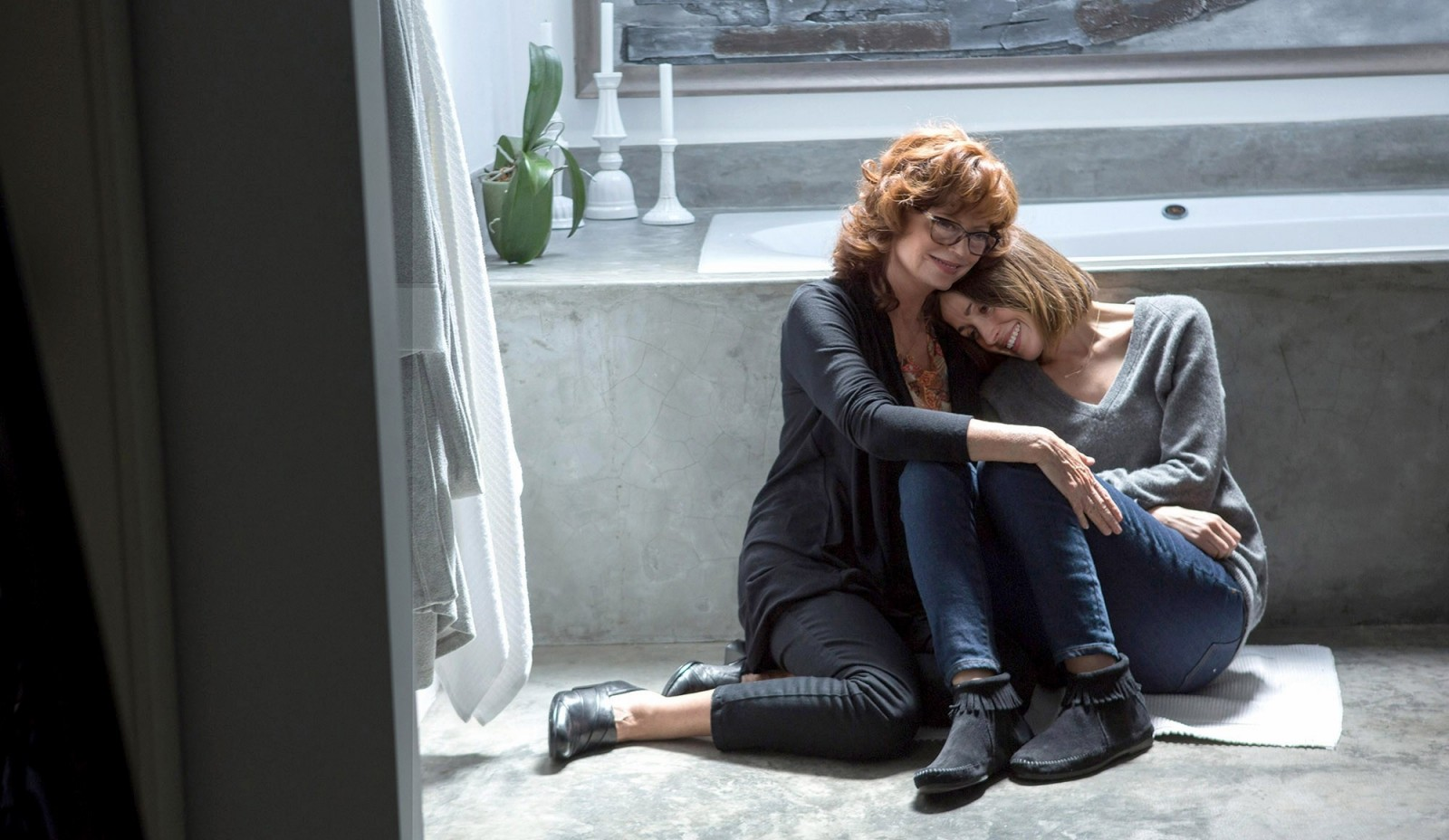 """Susan Sarandon, left, and Rose Byrne star in """"The Meddler."""""""