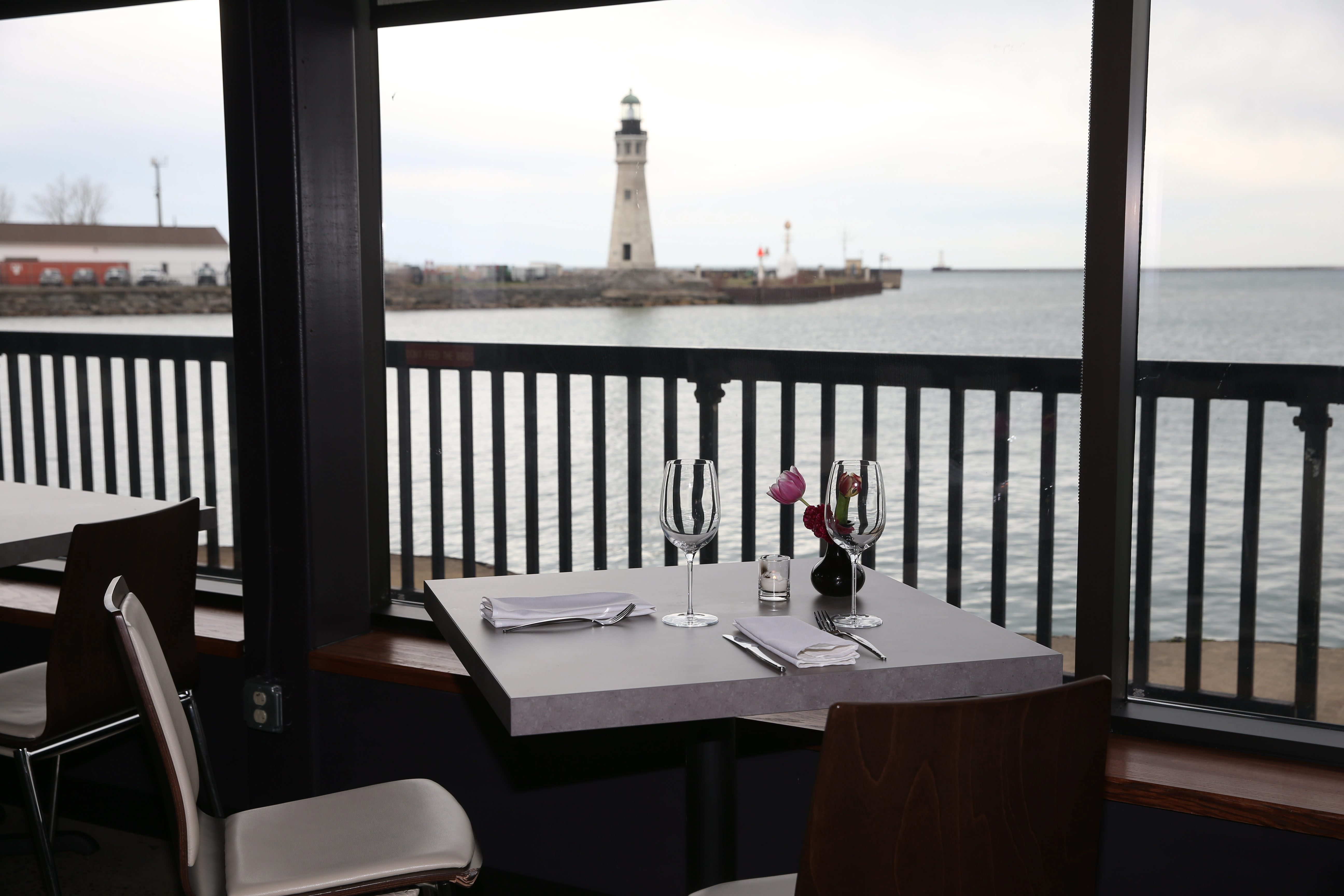 William K's opened on New Year's Eve next to the Hatch at the Erie Basin Marina.   Photo taken, Thursday, April 28, 2016.  (Sharon Cantillon/Buffalo News)