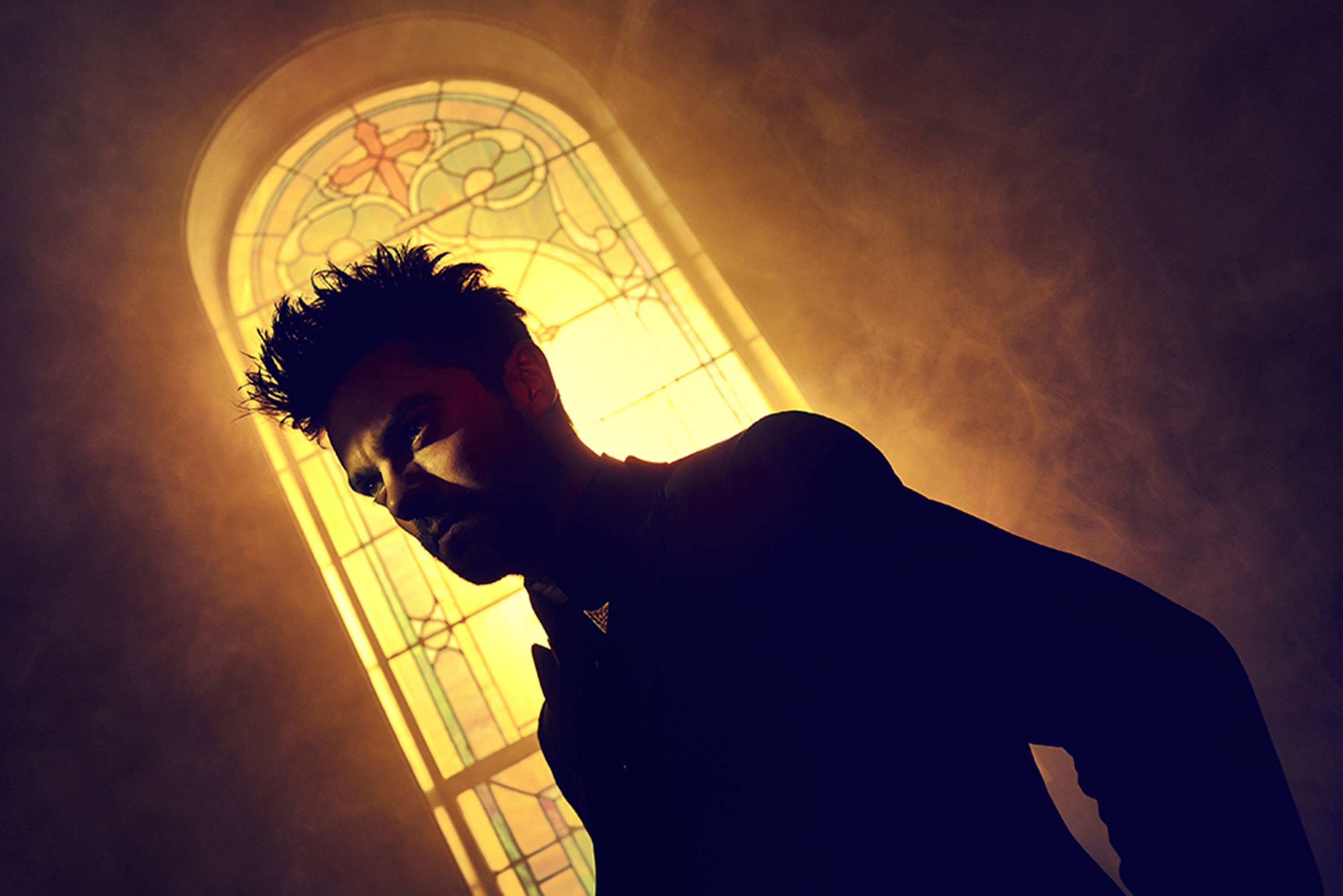"Dominic Cooper plays Jesse Custer in AMC's ""Preacher."""
