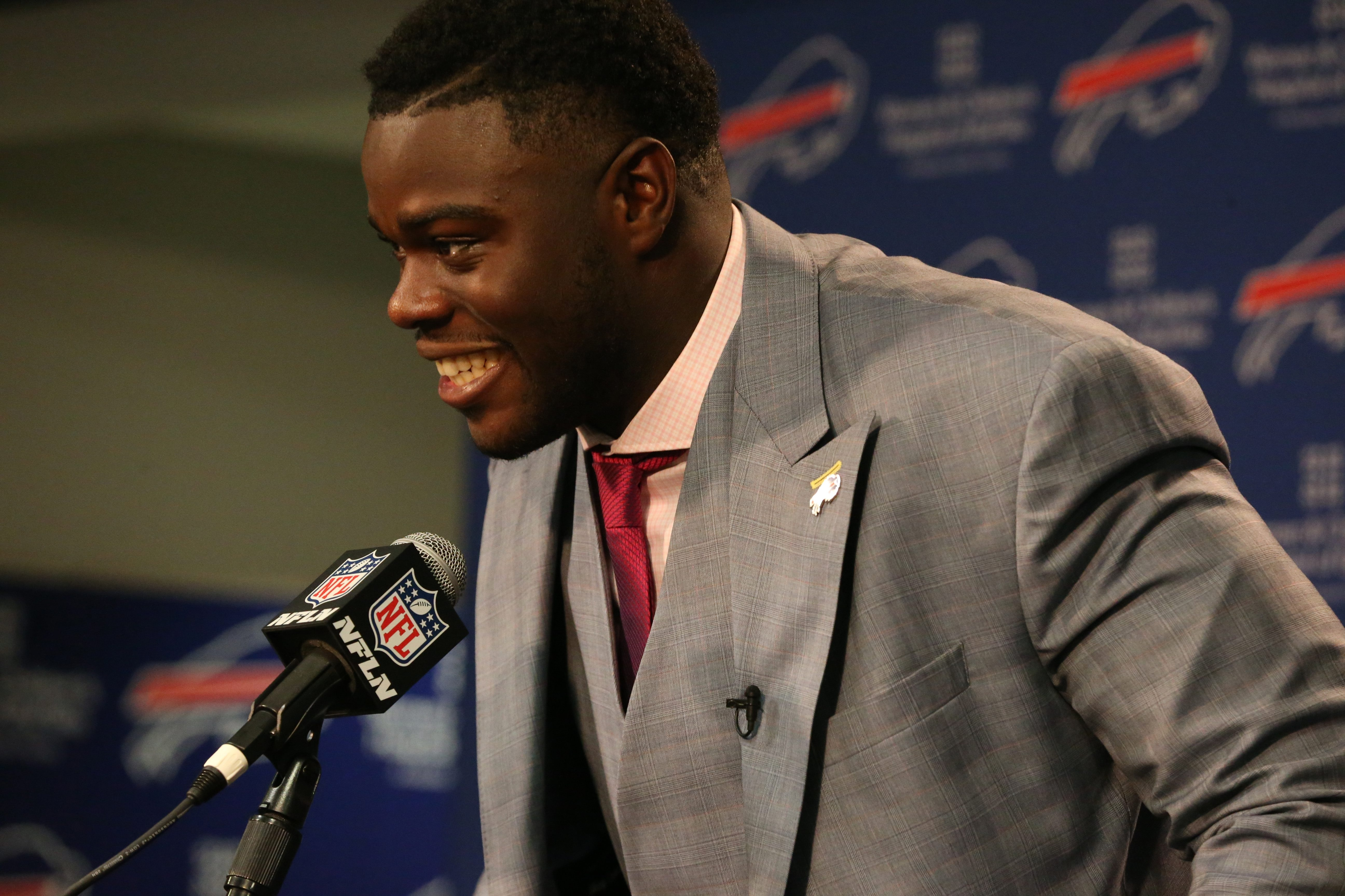 First-round pick Shaq Lawson is one reason the Bills may have been helped more in the draft than any of their AFC East rivals. (James P. McCoy/ Buffalo News)