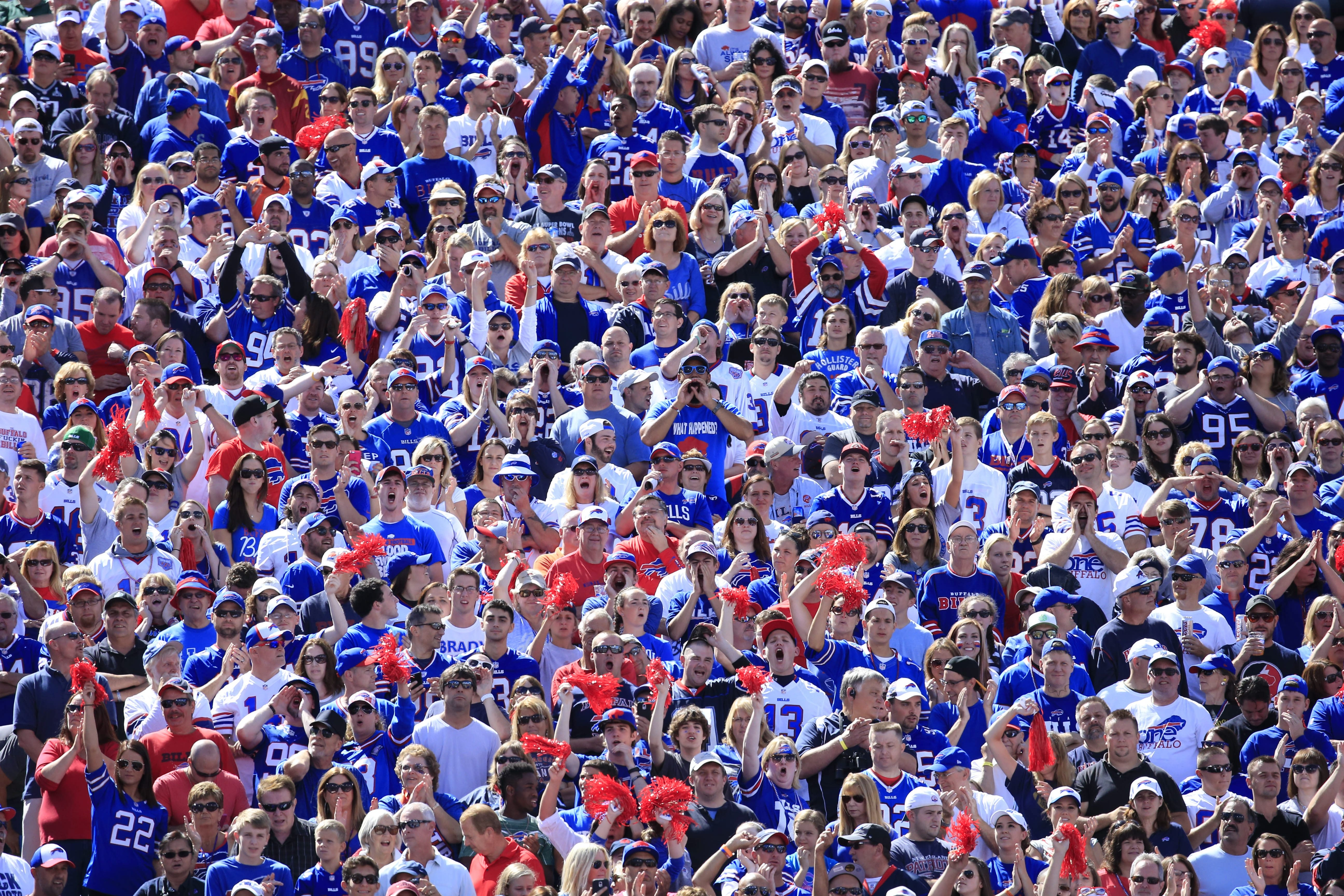 The fans are the losers in the Bills' new restrictive media policies. (Harry Scull Jr./Buffalo News)