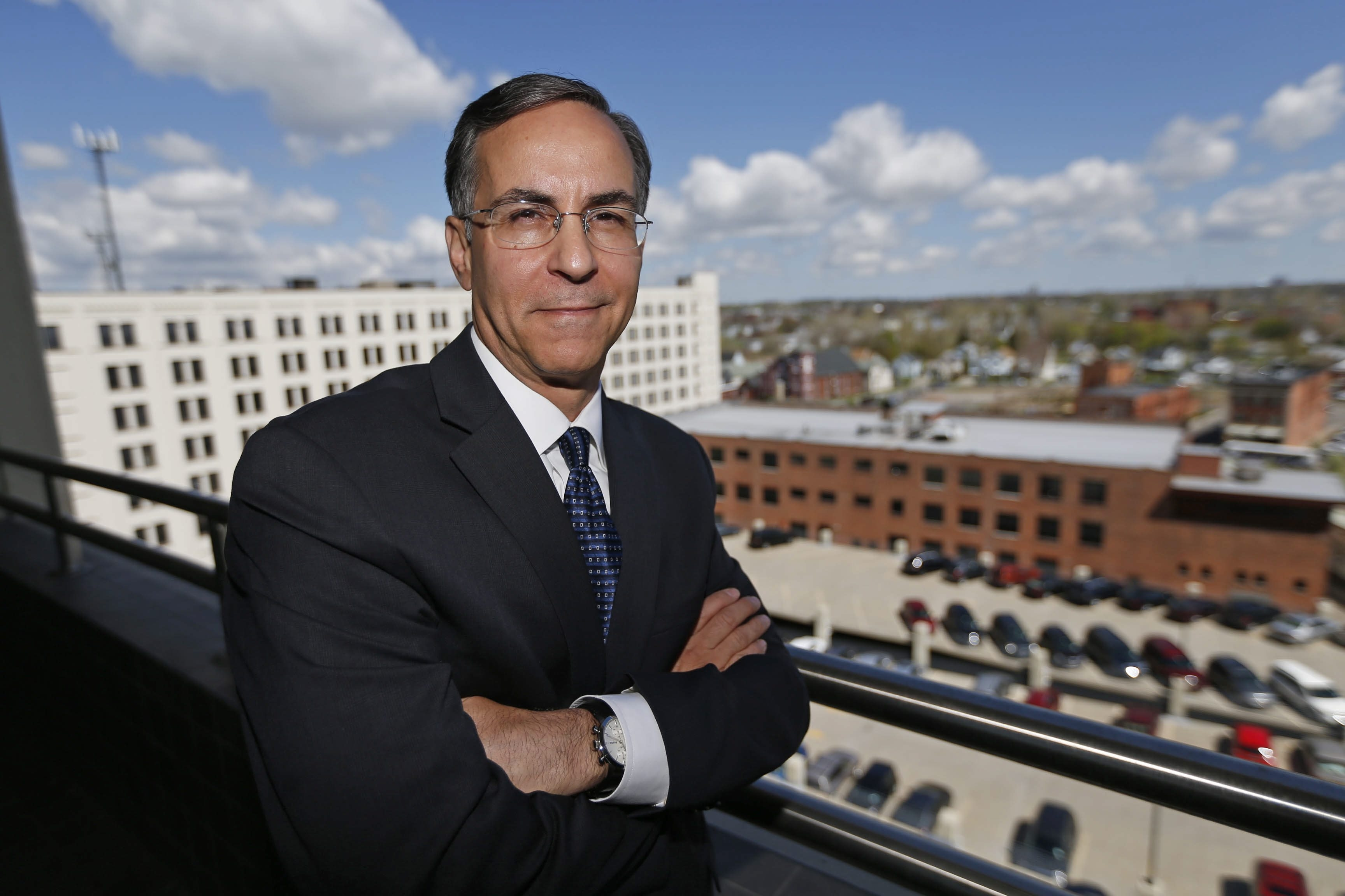 """""""Only about 5 percent of small and medium-size enterprises export, so there is a tremendous opportunity right here in Western New York,"""" said John Manzella."""