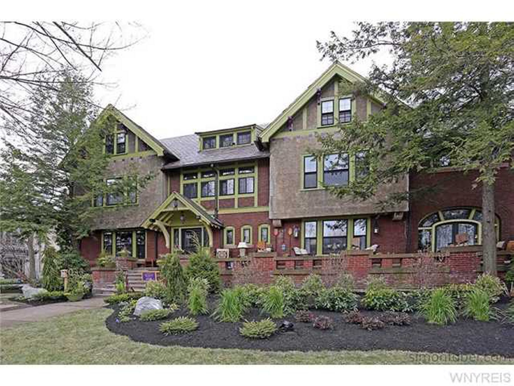 The 2015 Junior League Decorators Show House was the Edward H. Webster House at 164 Lincoln Parkway. (Sharon Cantillon/Buffalo News)