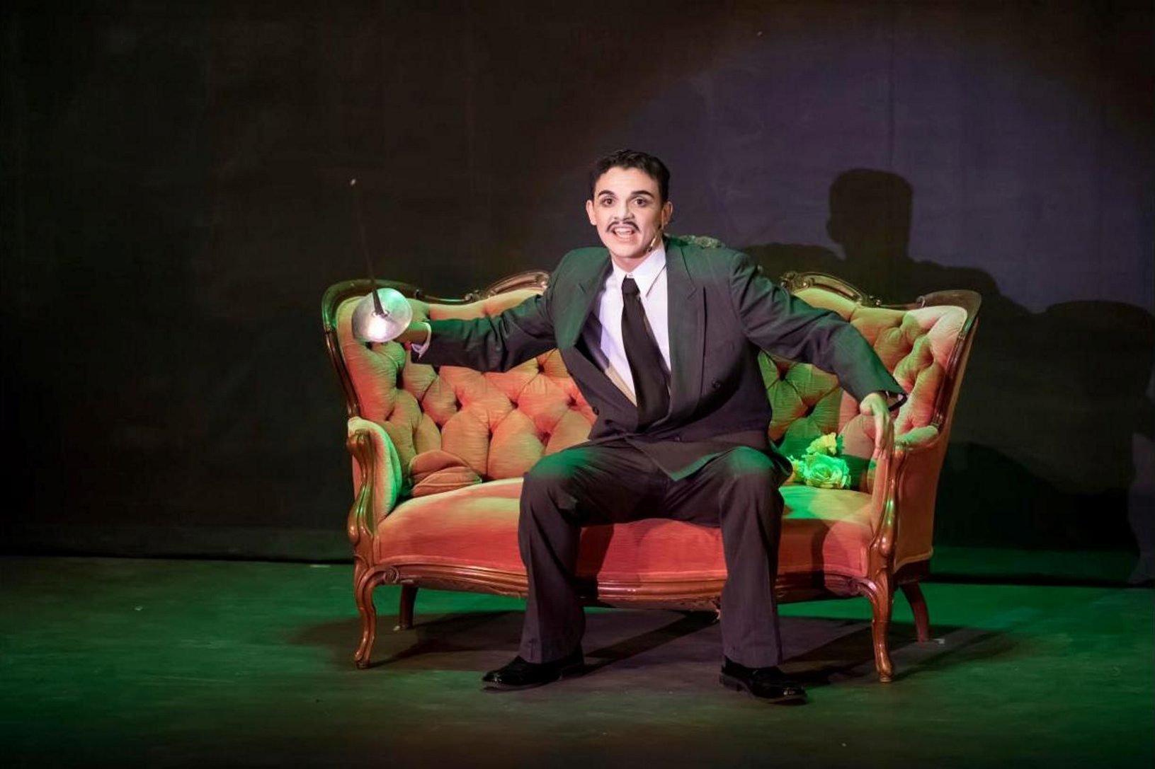 Outstanding Actor in a Leading Role: Joseph Russi (as Gomez Addams) in þÄúThe Addams Family,þÄù Frontier High School  Kenny Awards for NeXt