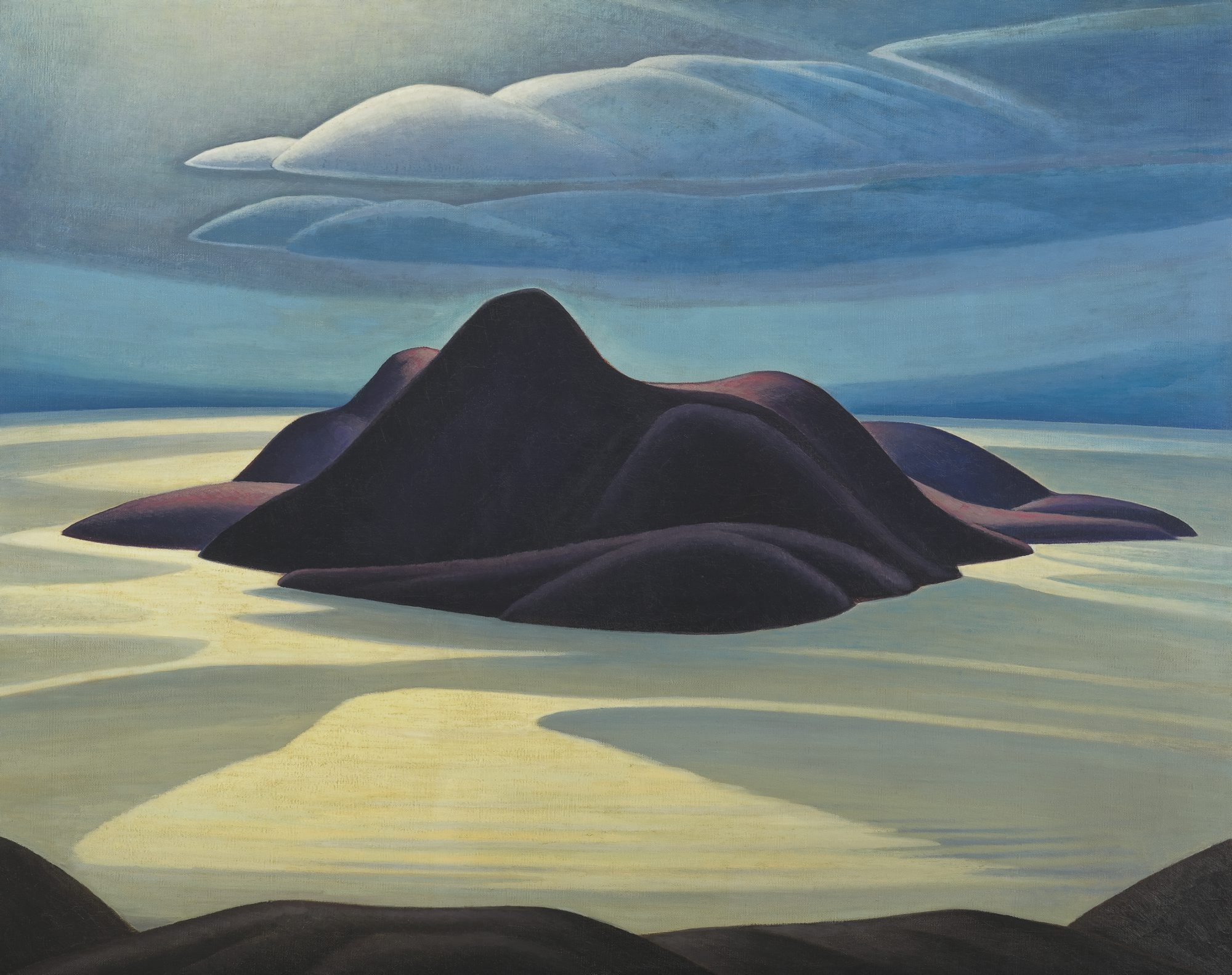 Pic Island, Lawren Harris, about 1924, oil on canvas