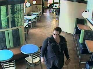 Police are looking for information on this suspect who they said stole a purse from a fast food restaurant on May 17. (City of Tonawanda Police)