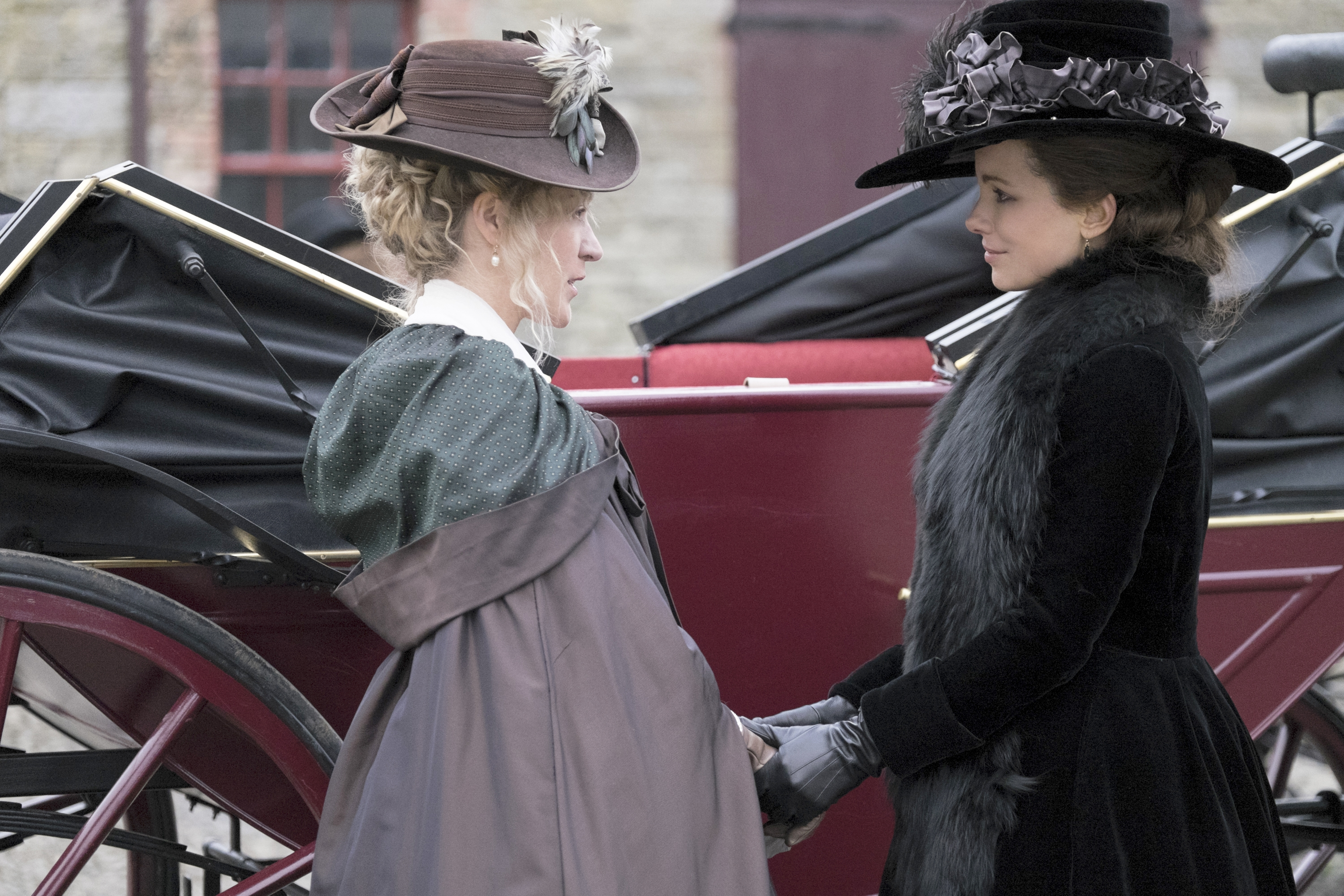 "Chloë Sevigny, left, and Kate Beckinsale star in ""Love & Friendship,"" written and directed by Whit Stillman."