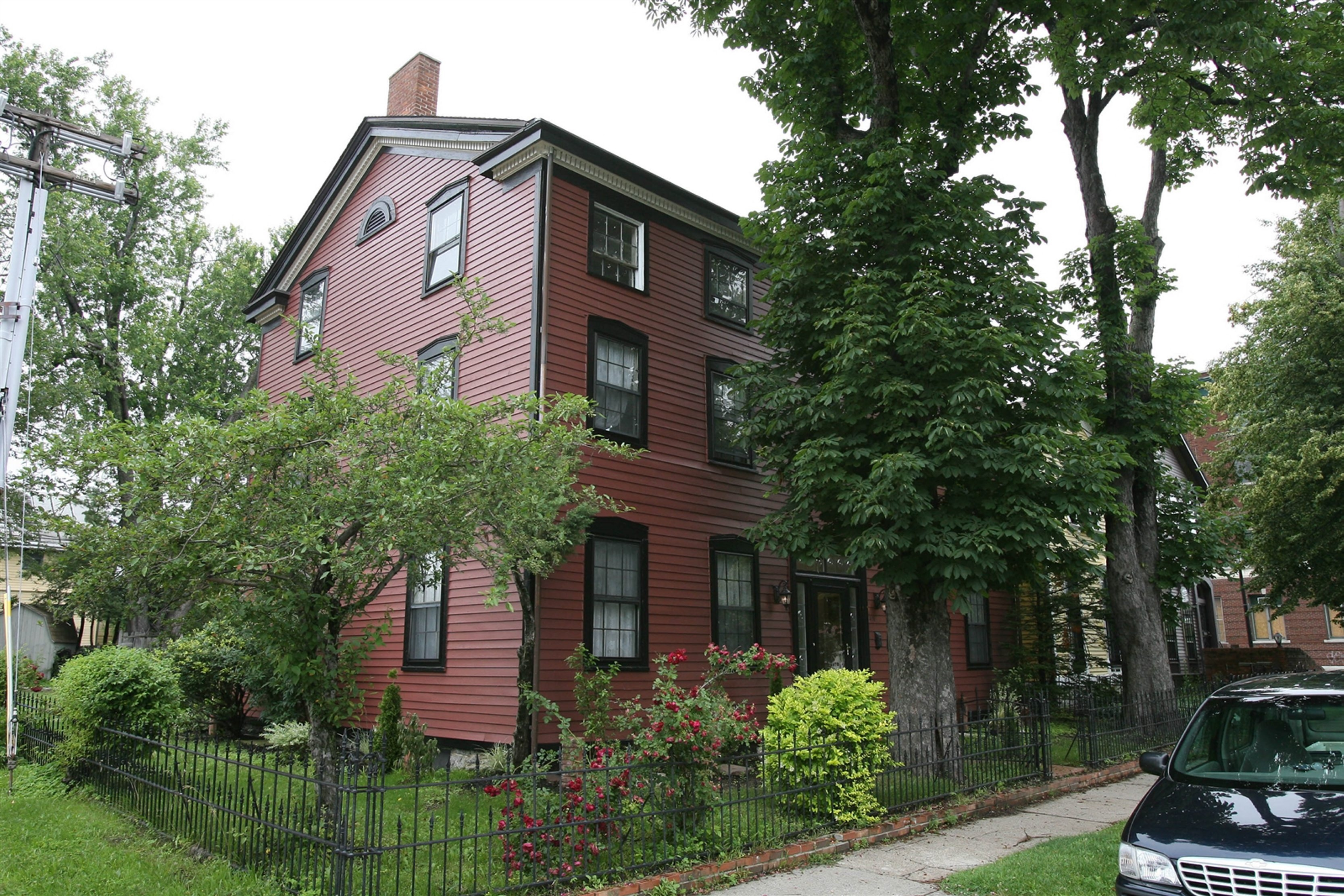 The Coit House, at 414 Virginia St. in Allentown, was built circa 1814-1815, after the War of 1812. It is currently maintained by residents Timothy Boyand and Sue-Jolie Rioux.
