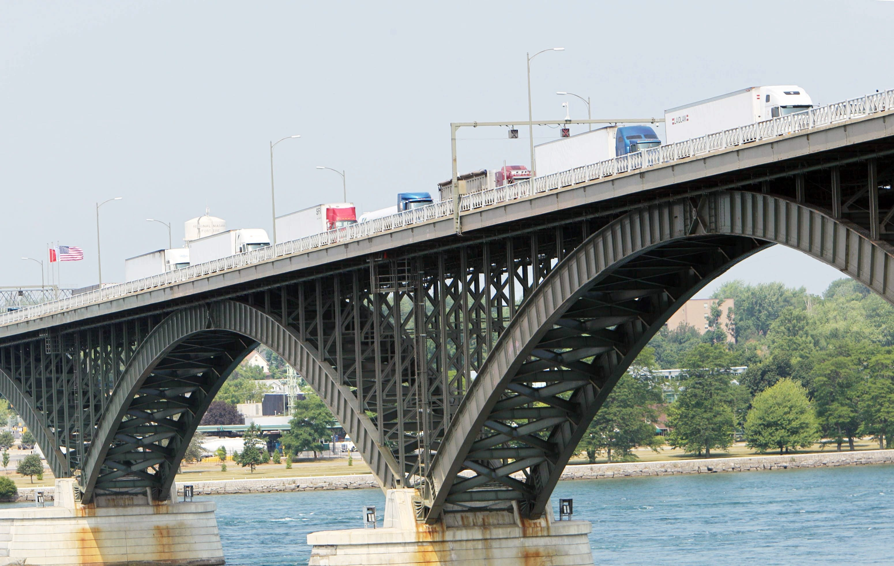 In plan that would save $13 million, Peace Bridge, which handles 6 million vehicles a year, would limit lane closings from fall '17 to early '19.