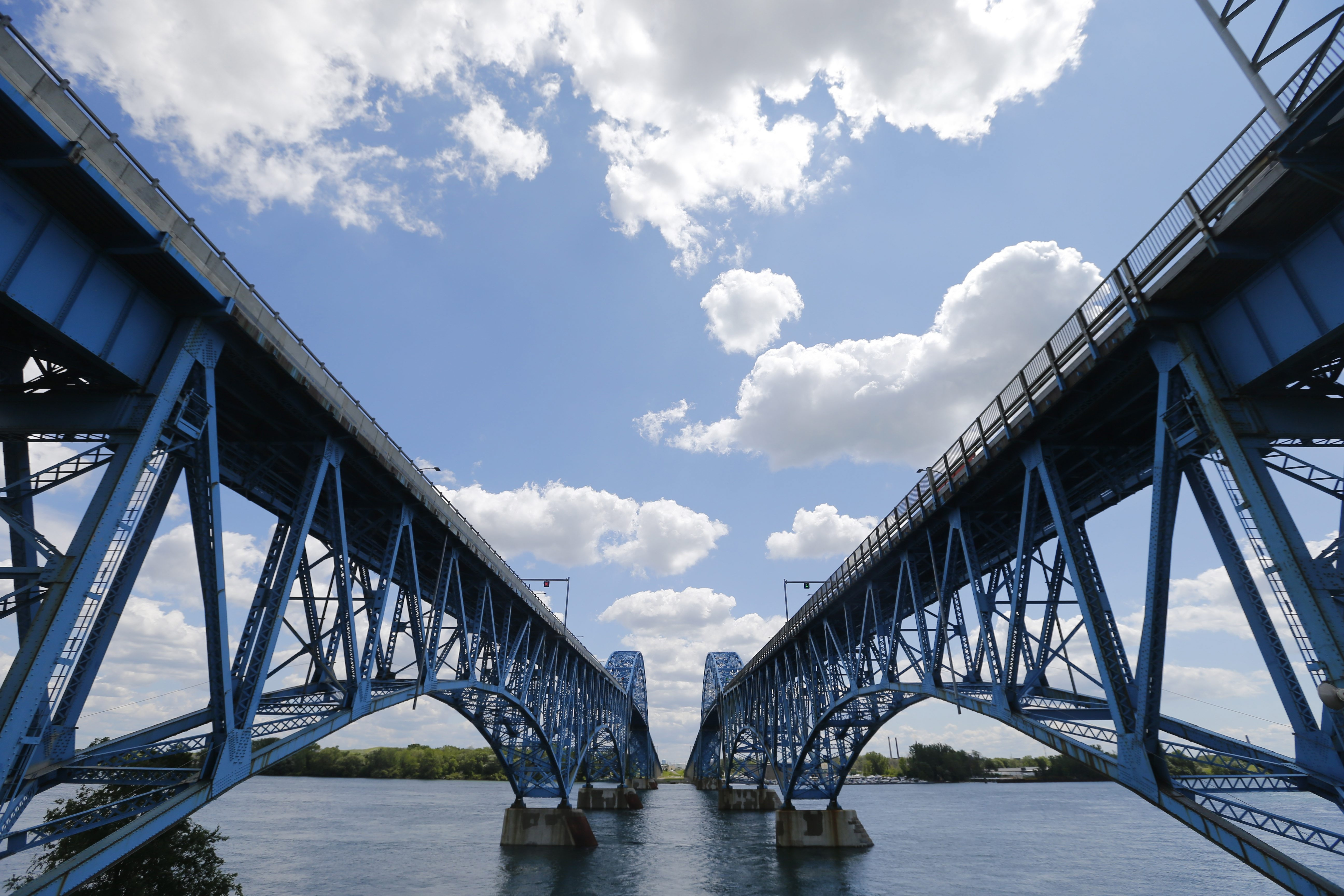 The toll barriers on the Grand Island bridges slow travel and impede business while sending revenue across the state. (Mark Mulville/Buffalo News file photo)