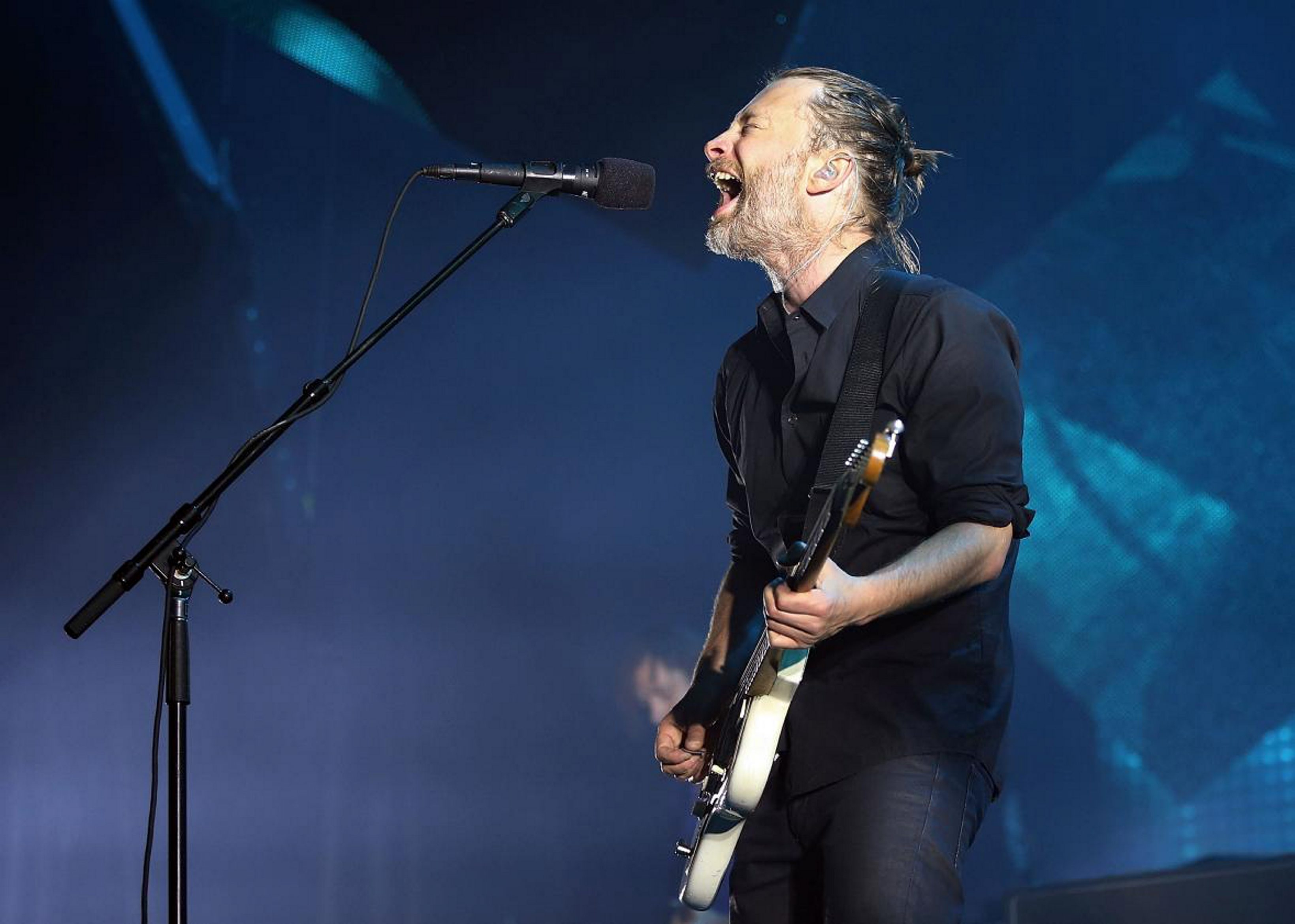 """No one does the existential downward spiral quite like Thom Yorke of Radiohead. The band's """"A Moon Shaped Pool"""" was released on Sunday."""