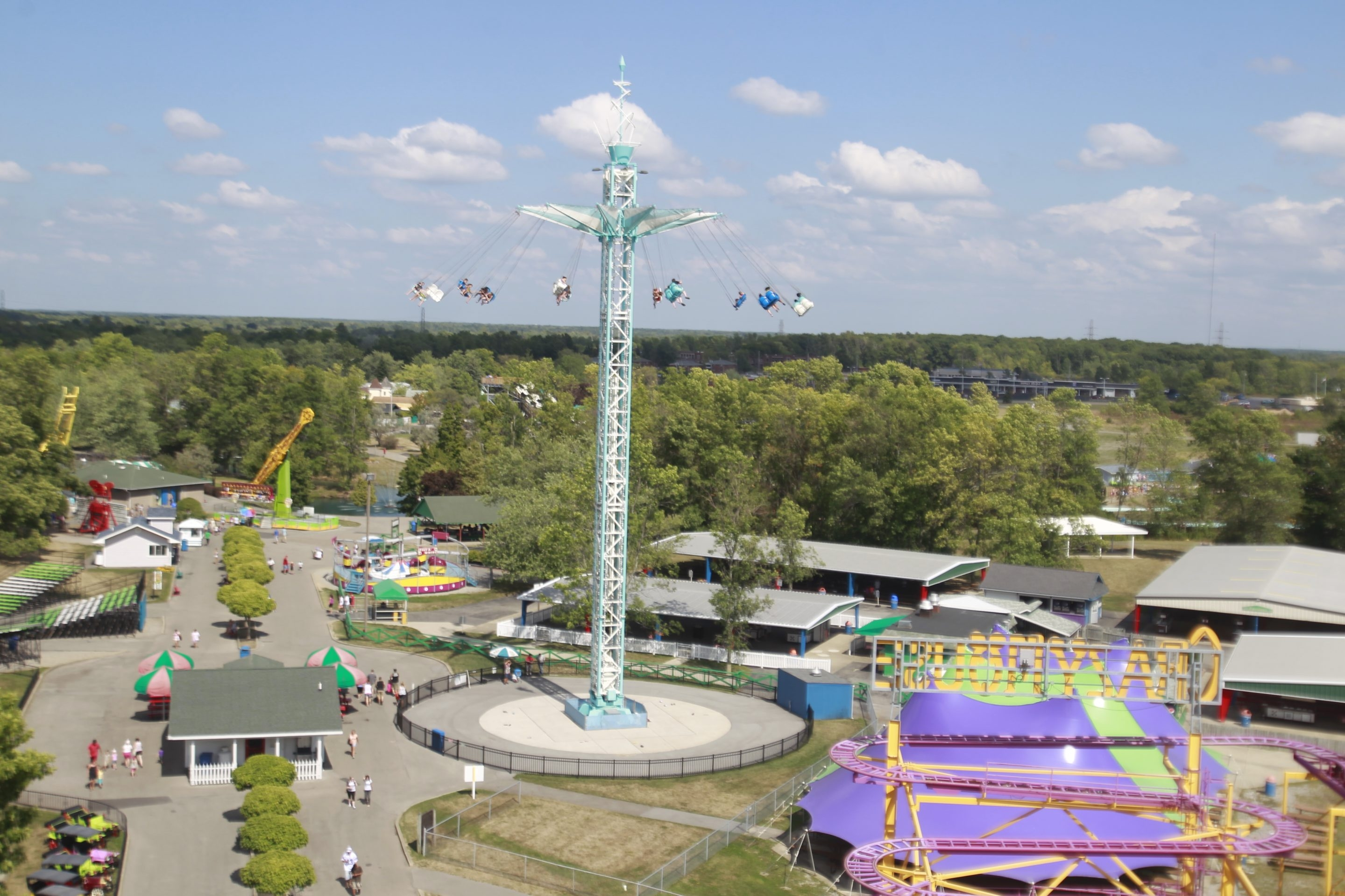 Martin DiPietro, who bought Fantasy Island 22 years ago, said a sale to Apex was the best way of ensuring the future success of the park. (John Hickey/News file photo)