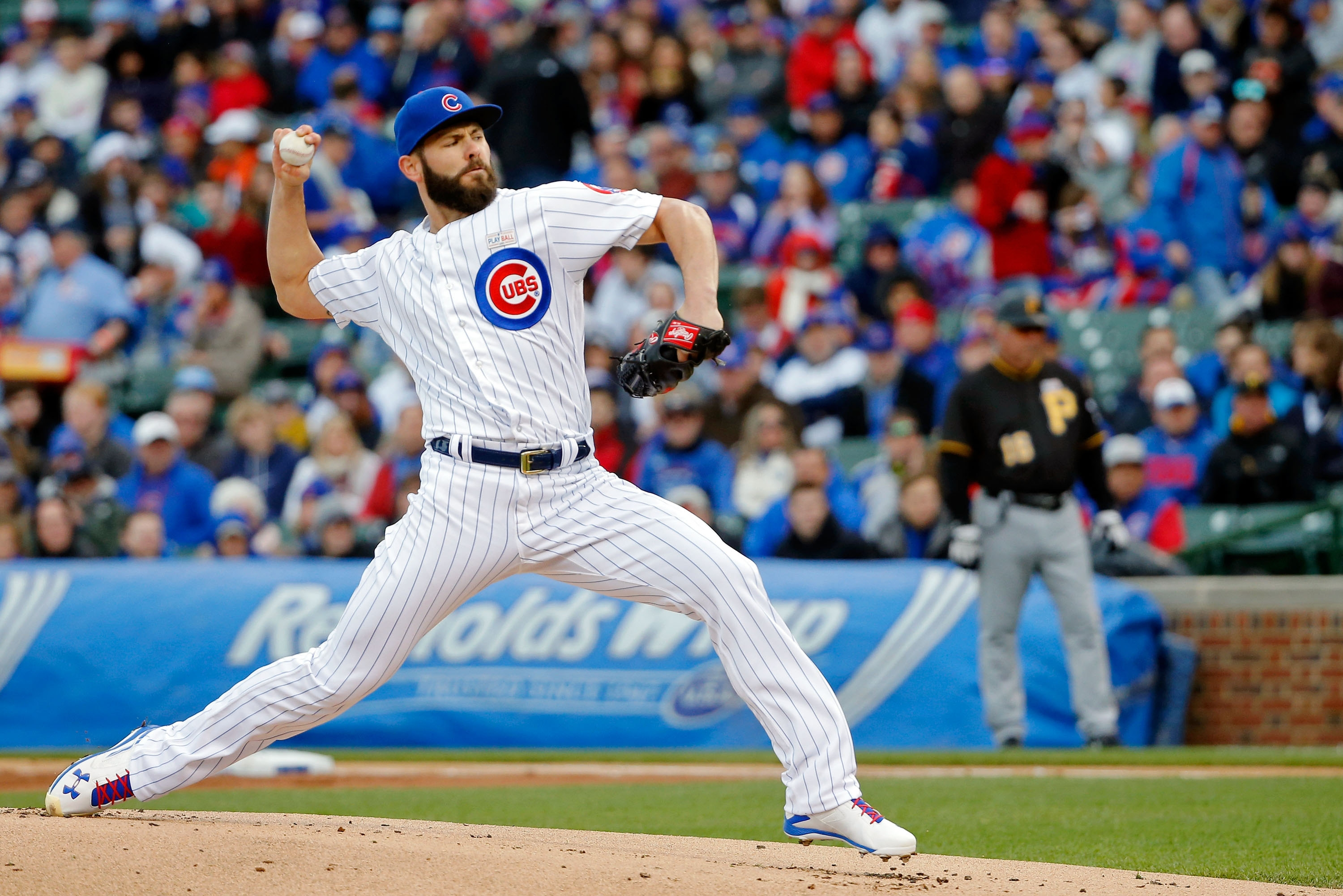 "The Chicago Cubs have been an automatic ""W"" with Jake Arrieta on the mound. (Getty Images)"