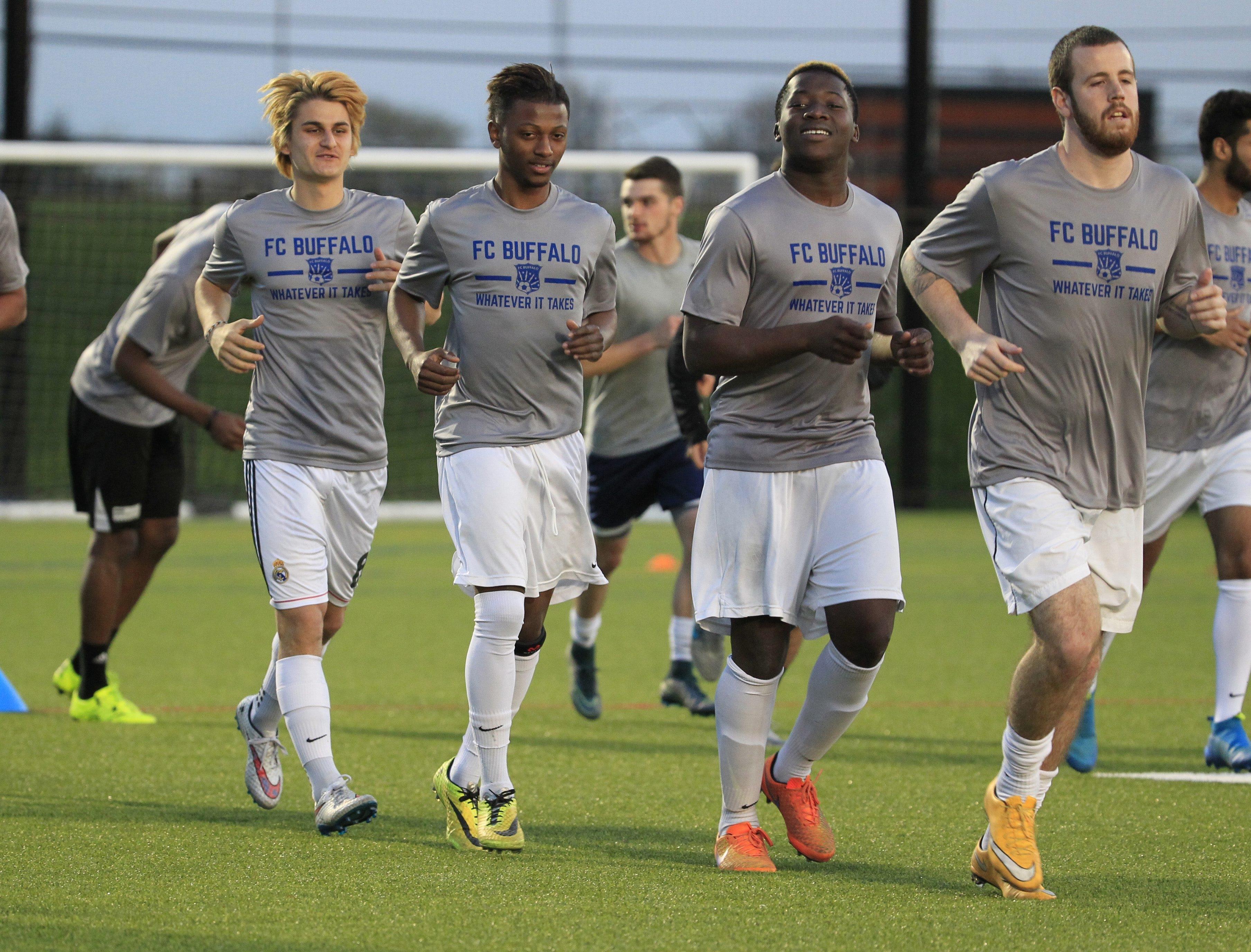 FC Buffalo begins its season at 7 p.m. Saturday at All High Stadium.