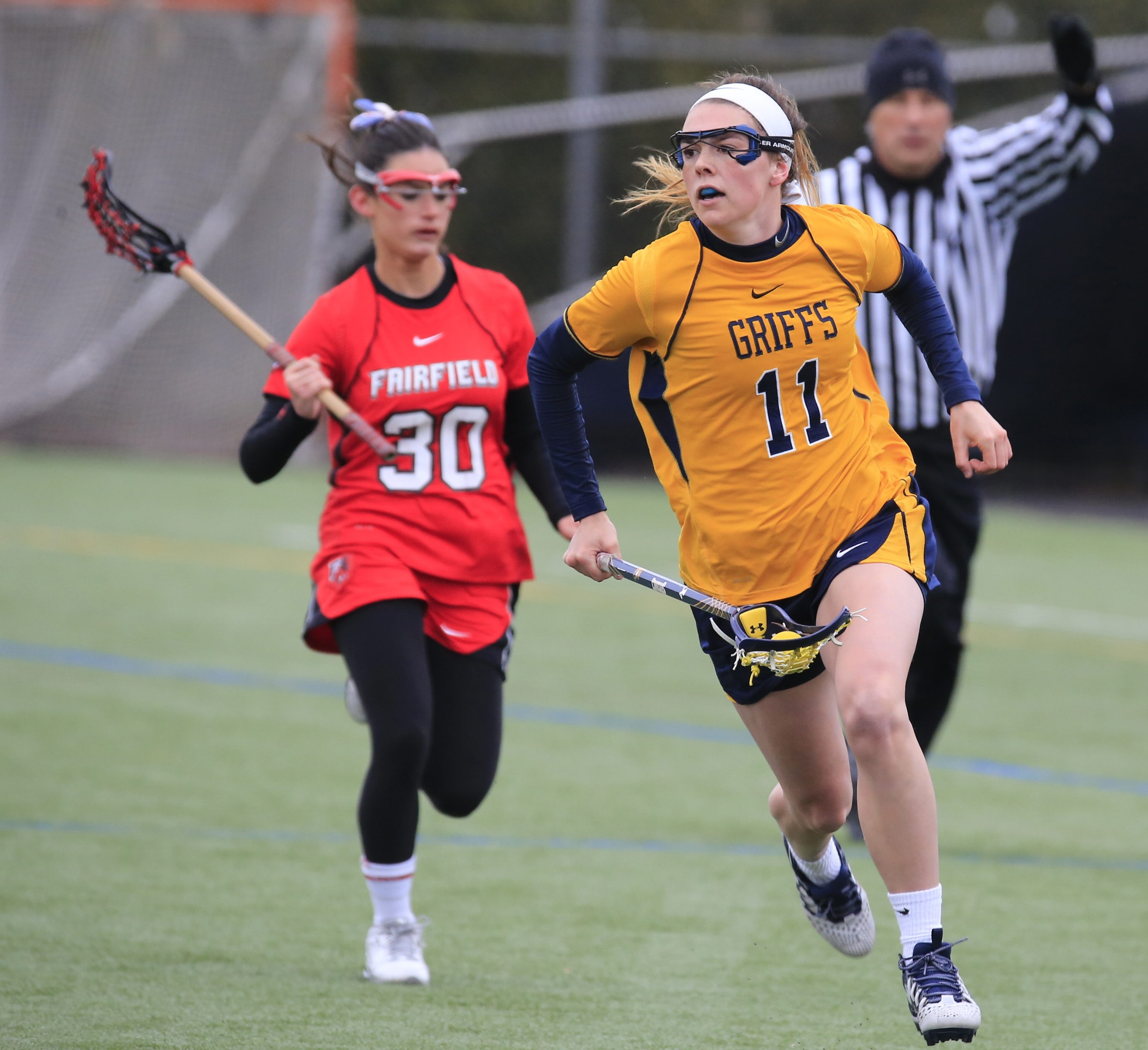 Canisius lacrosse star Erica Evans, a native of Peterborough, Ont., is the cousin of Shawn Evans of the NLL's New England Black Wolves.